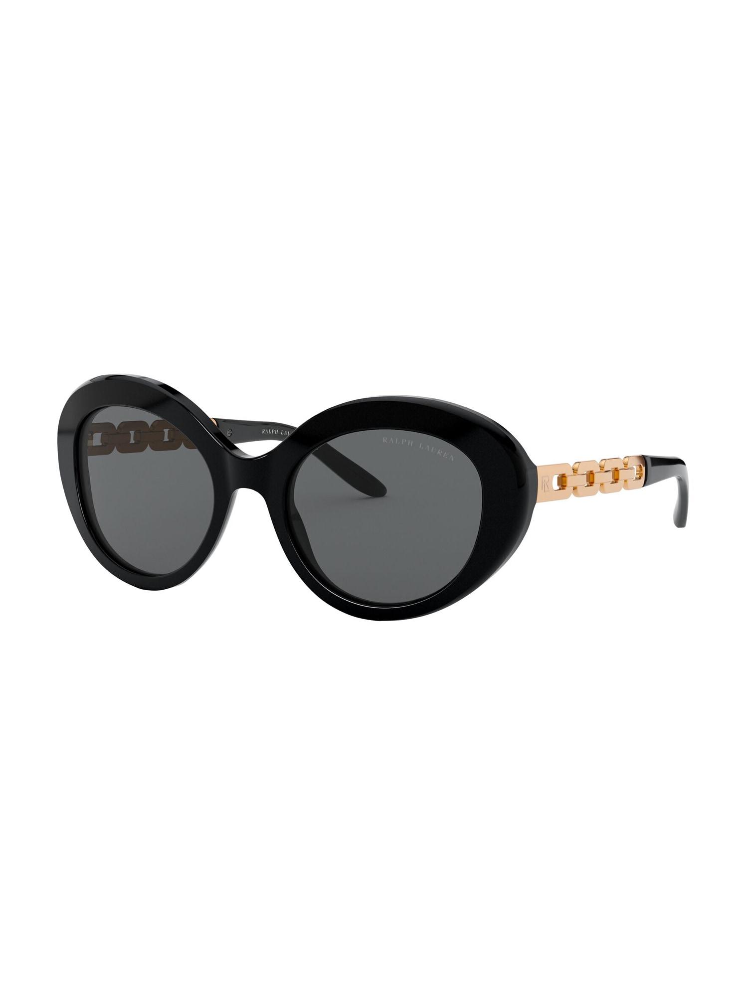 RALPH LAUREN Sluneční brýle  černá