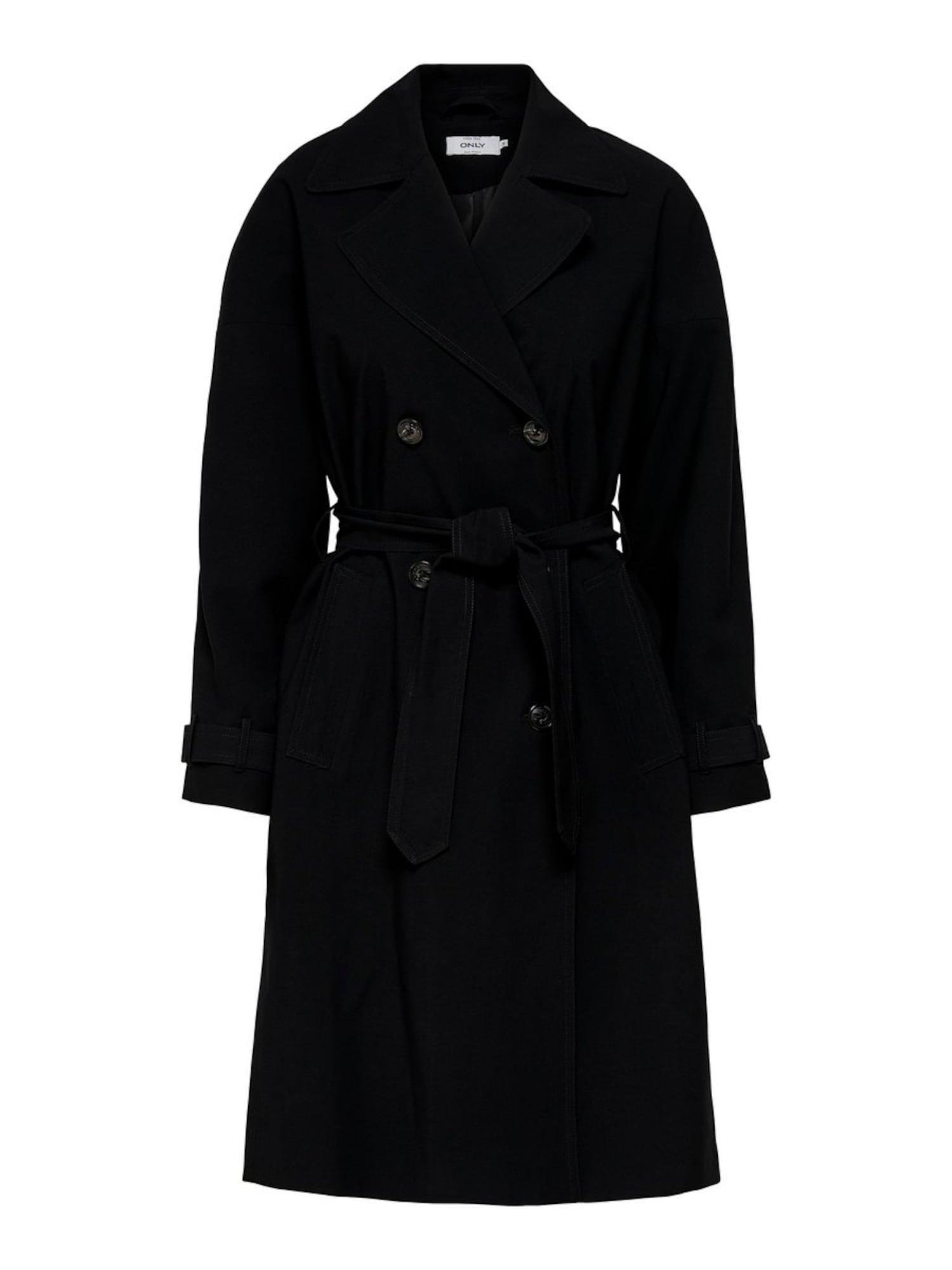 Přechodný kabát Emilia černá ONLY