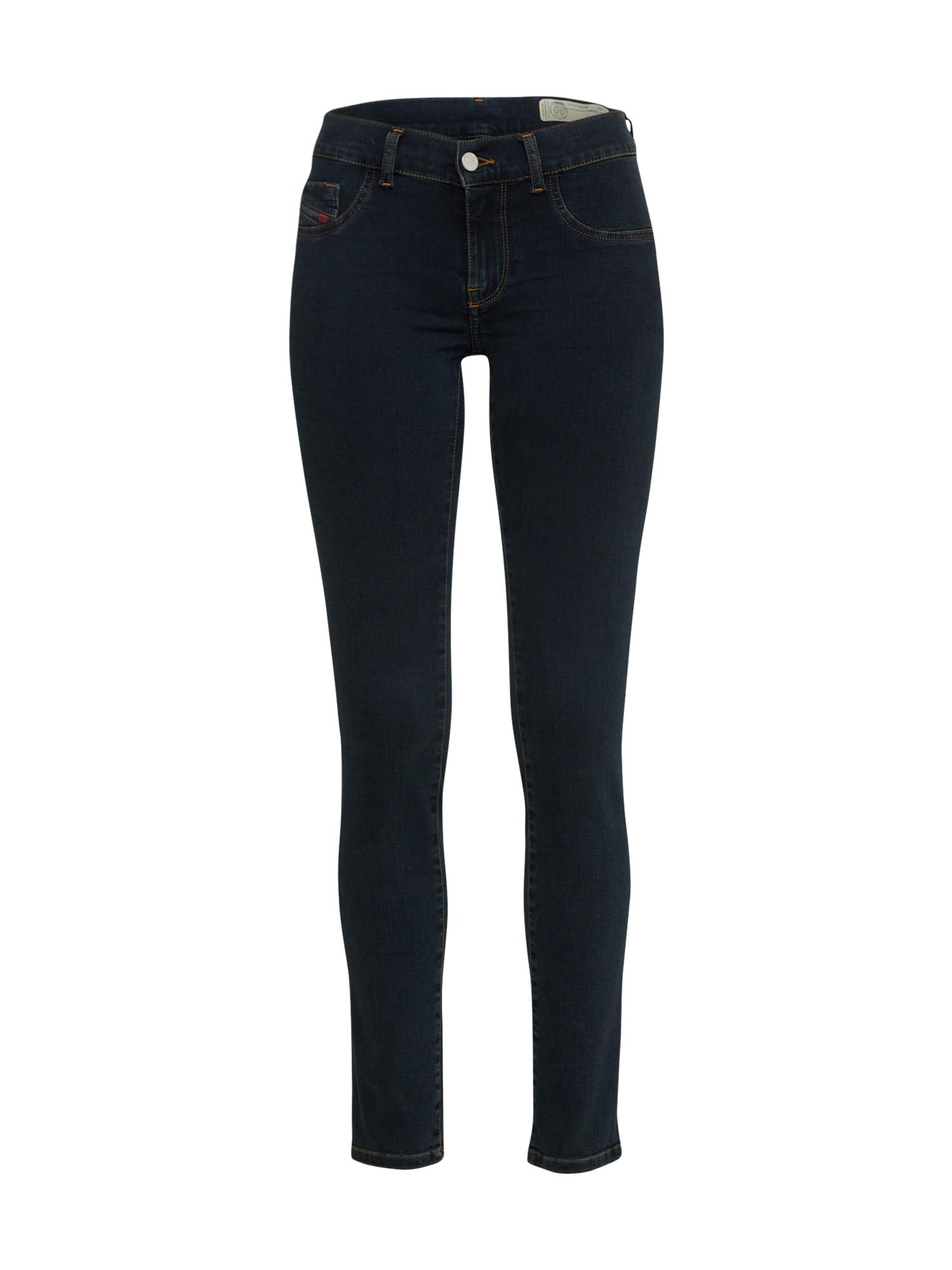 DIESEL Dames Jeans LIVIER-S 0687L donkerblauw