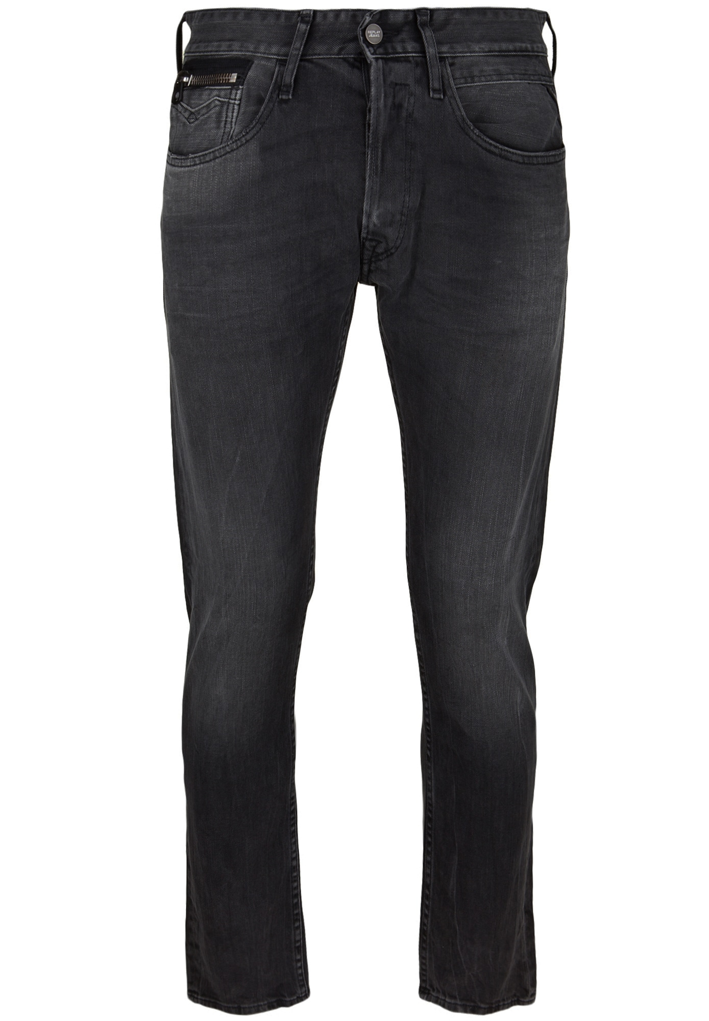 REPLAY Heren Jeans zwart