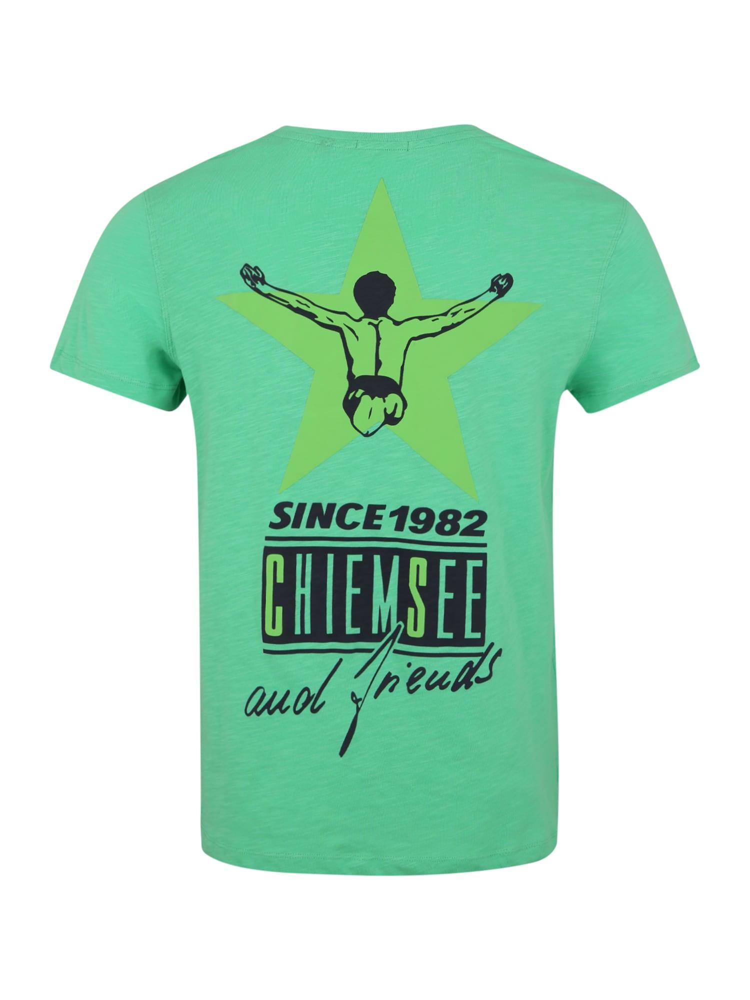 CHIEMSEE Funkční tričko  zelená
