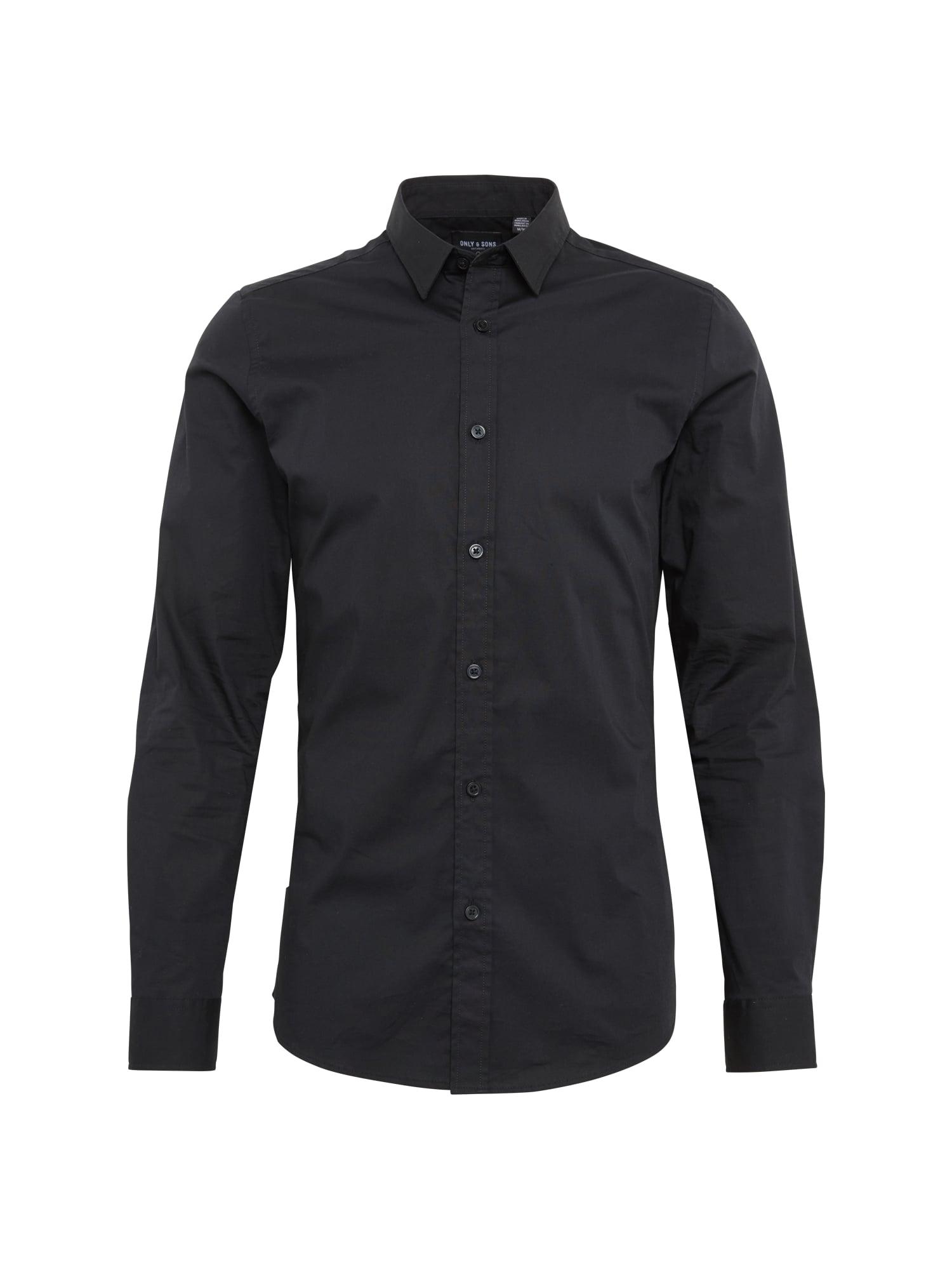 Košile ALFREDO černá Only & Sons