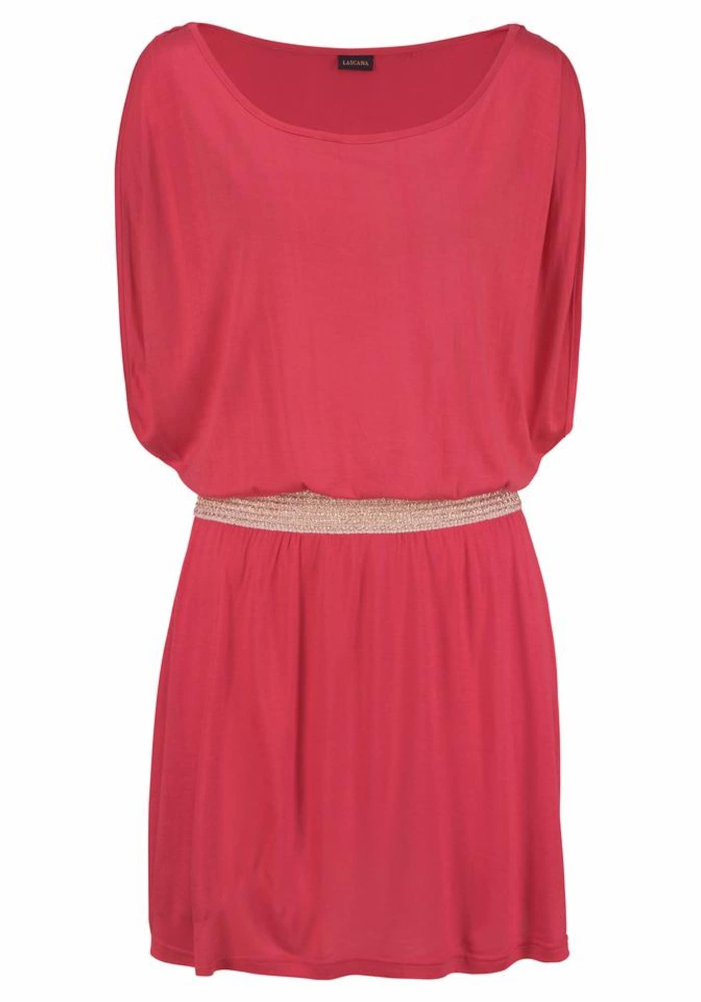 Plážové šaty pink LASCANA