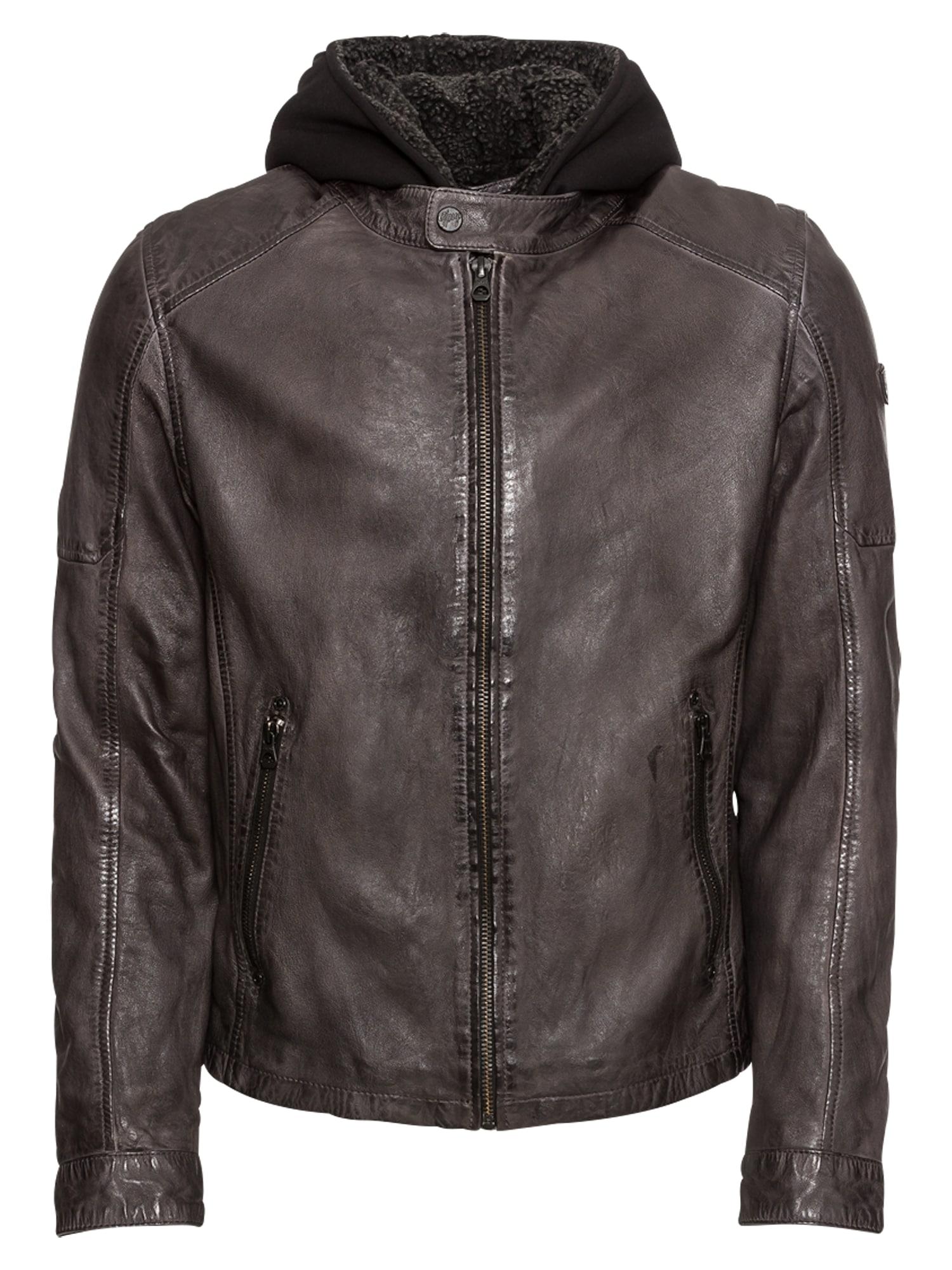 Přechodná bunda Max2 hnědá černá Gipsy