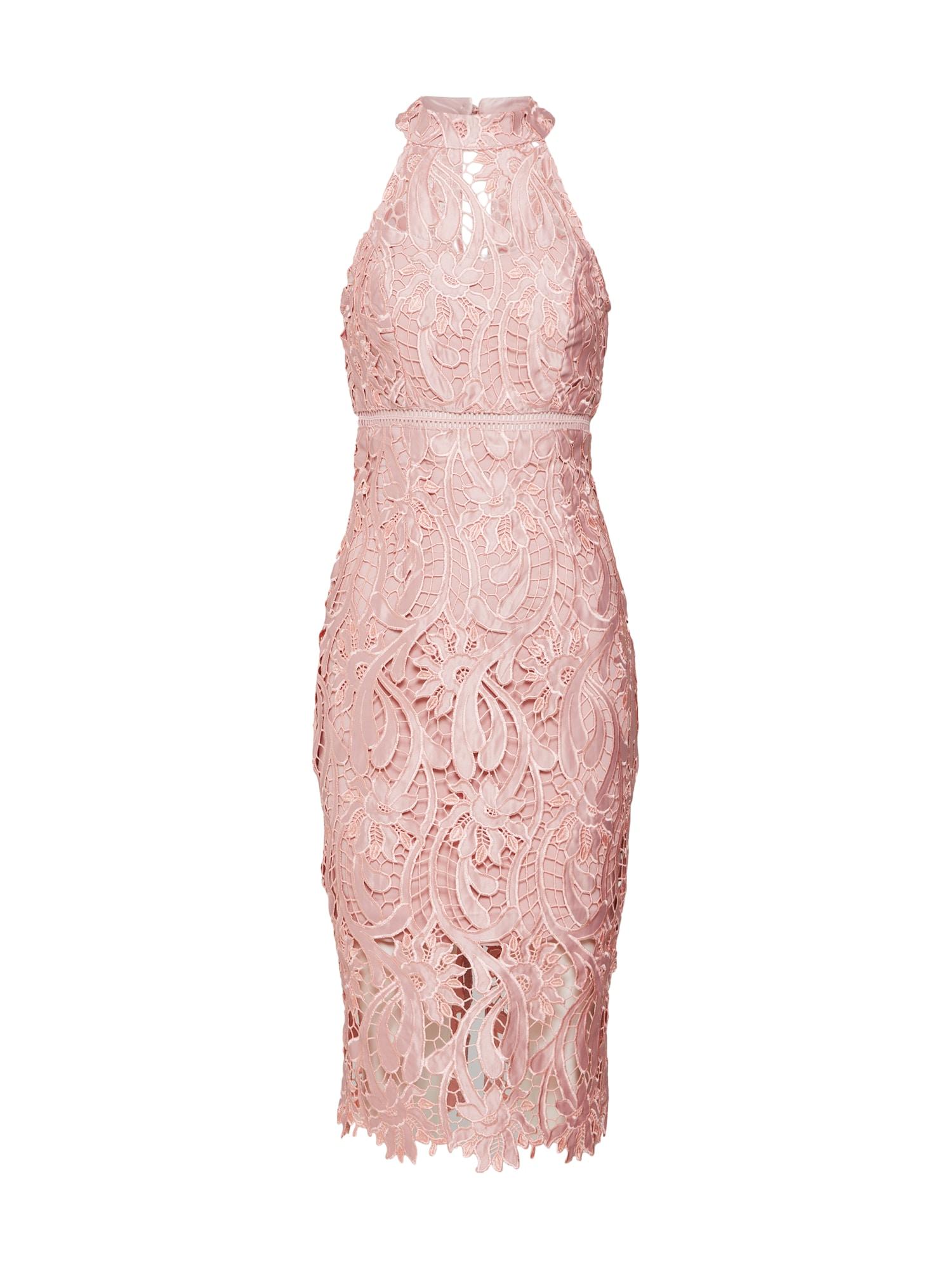 Bardot Sukienka koktajlowa  różowy pudrowy