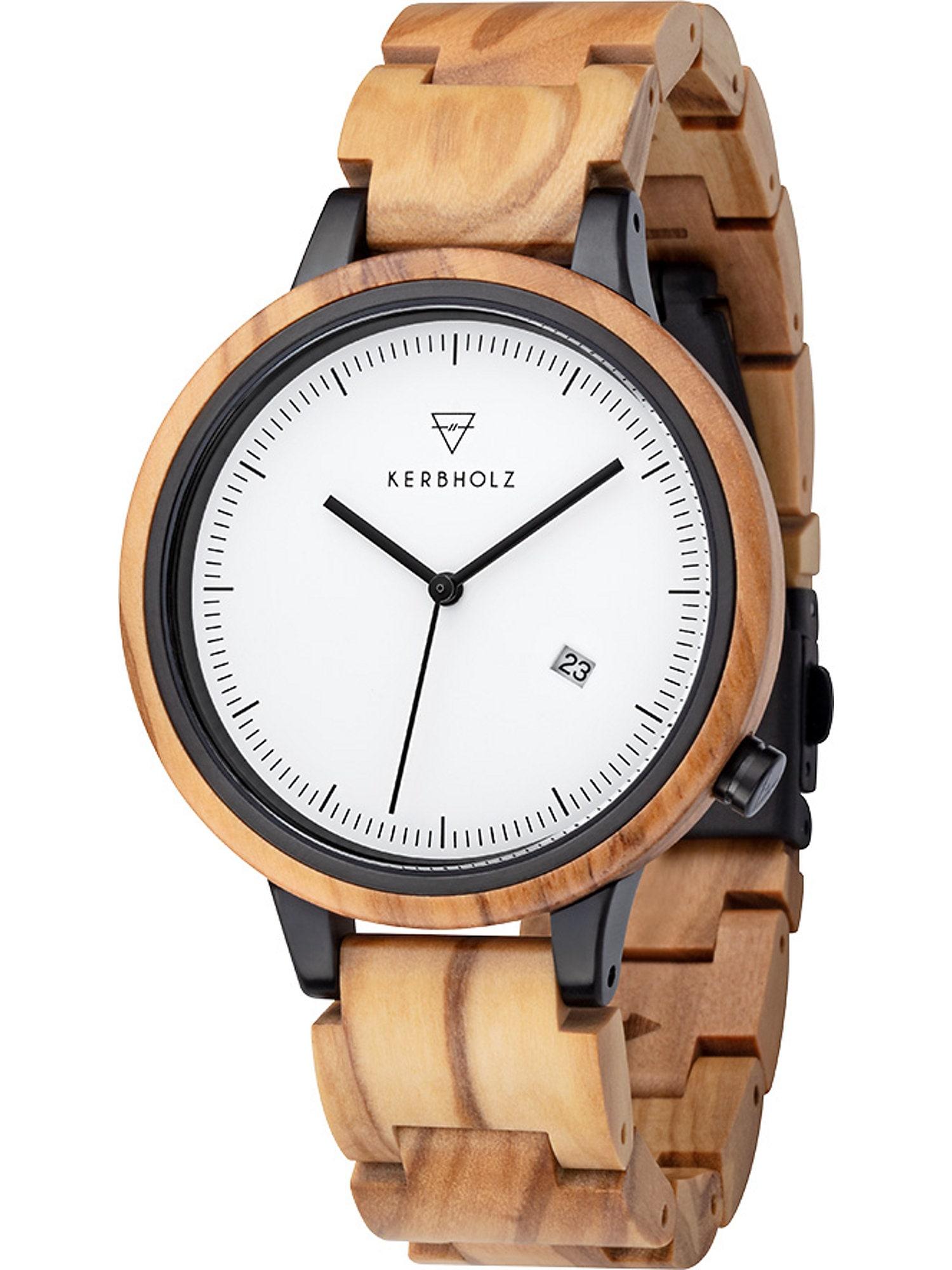 Armbanduhr 'Lamprecht' | Uhren > Sonstige Armbanduhren | Kerbholz