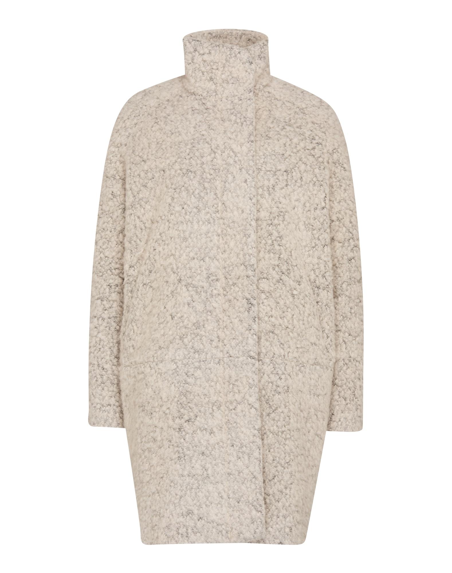 Zimní kabát Hoff 6182 šedý melír Samsoe & Samsoe