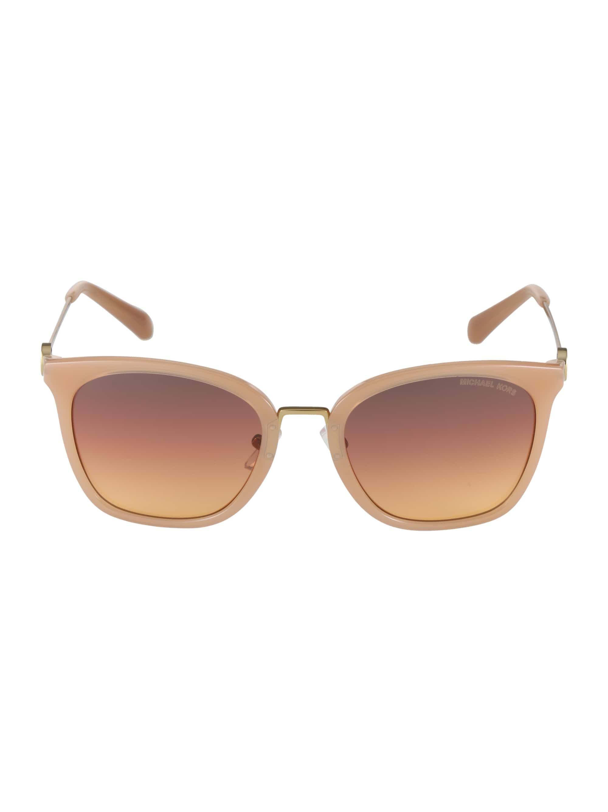 Michael Kors Okulary przeciwsłoneczne 'LUGANO'  brązowy