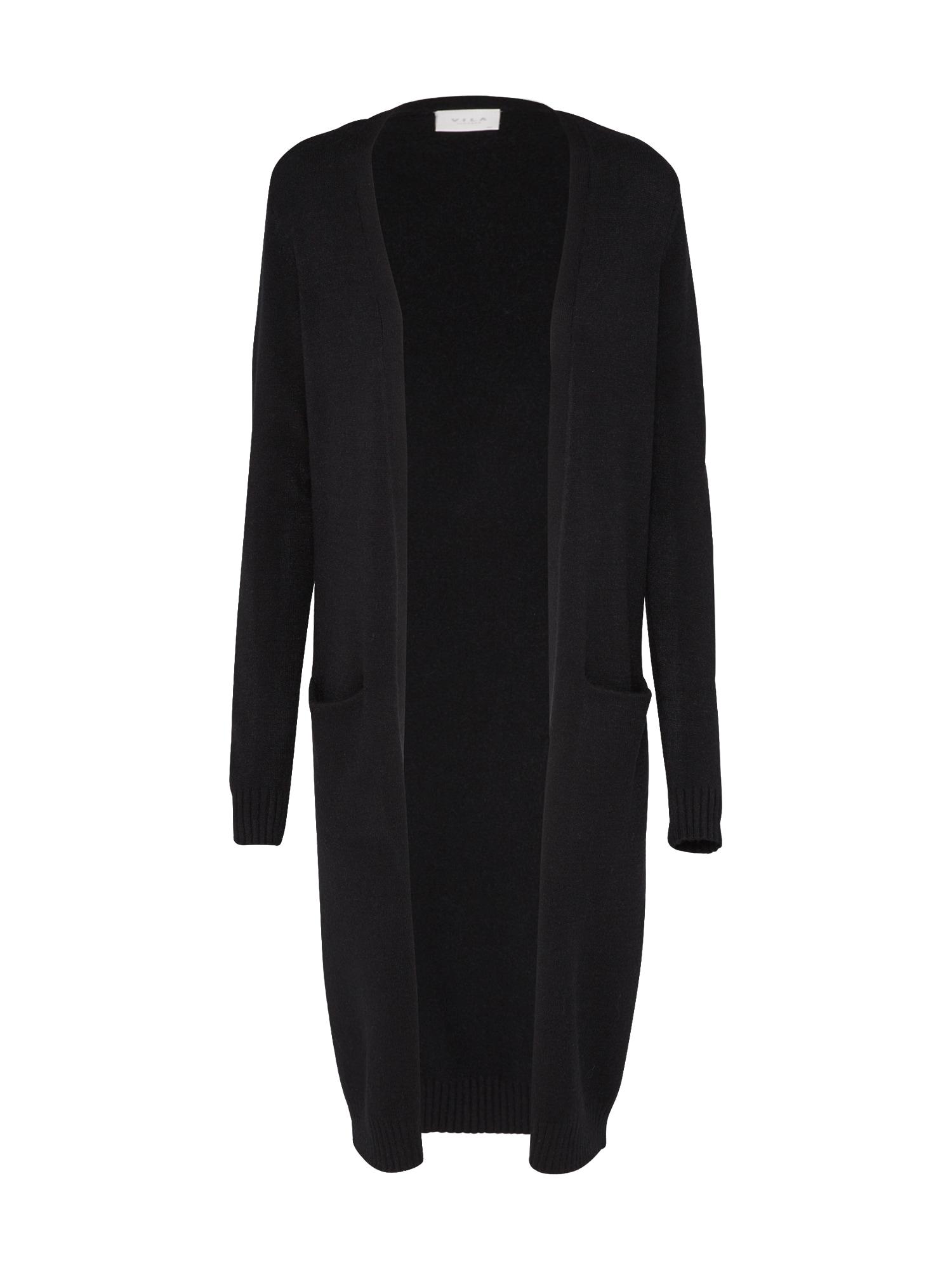 Pletený kabátek Ril černá VILA