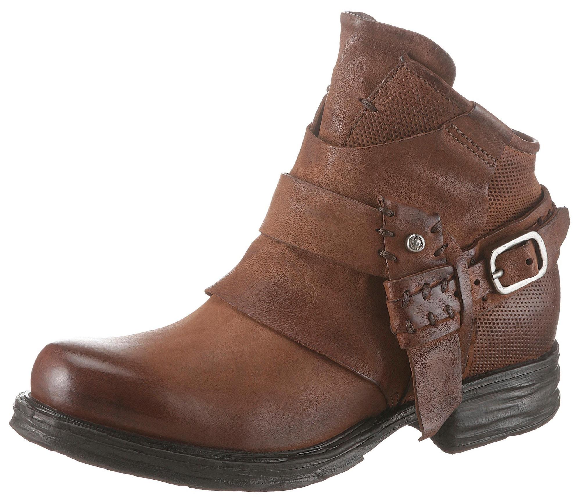 Bikerboots   Schuhe > Boots > Bikerboots   Cognac   a.s.98