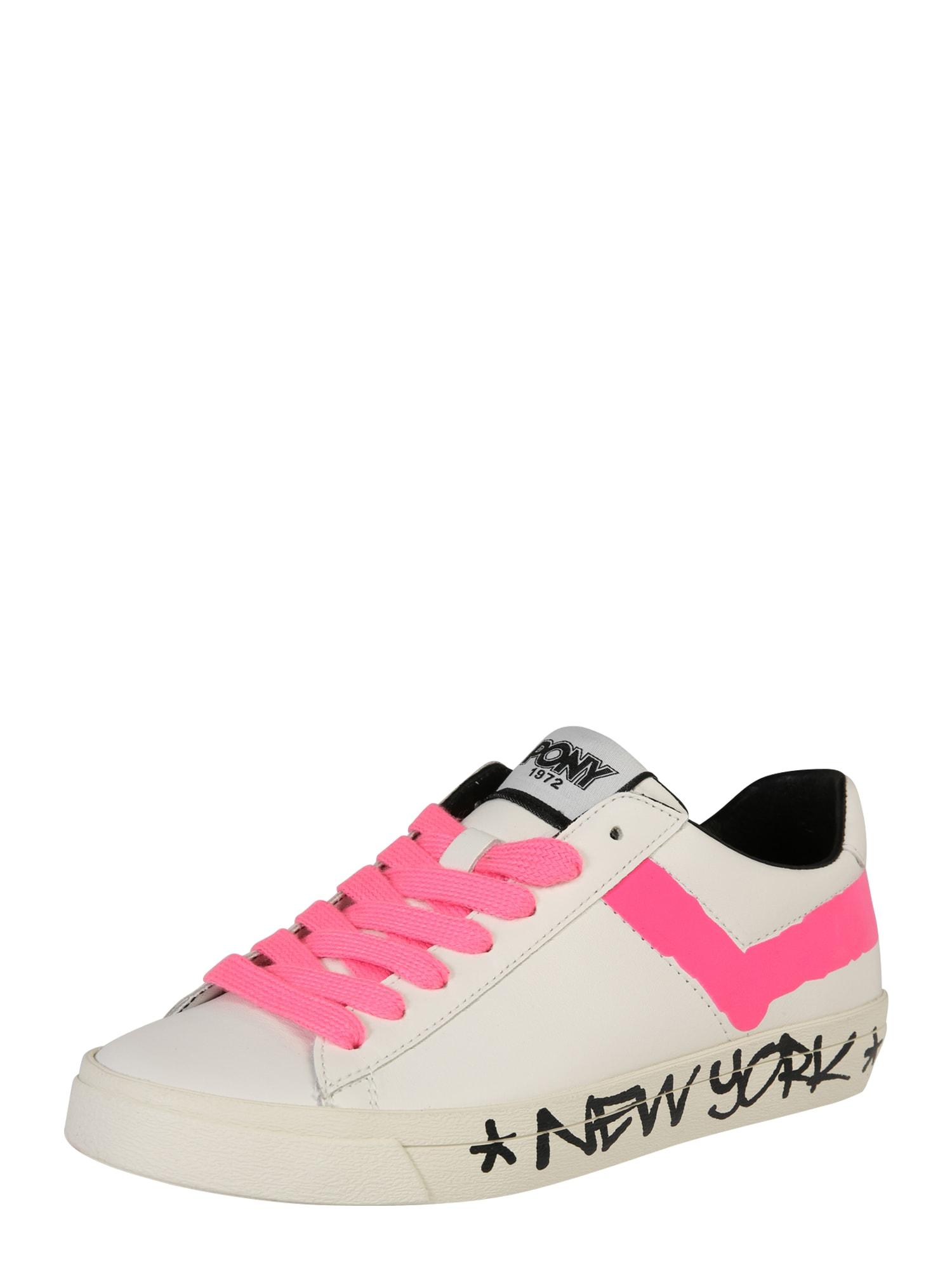 Tenisky TOP STAR pink bílá PONY