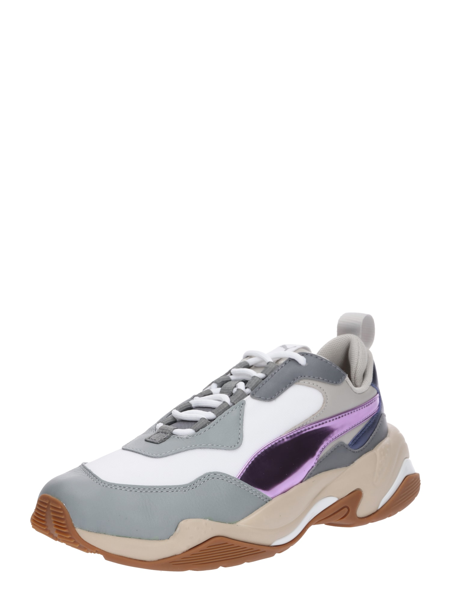 PUMA, Dames Sneakers laag 'Thunder Electric', lichtgrijs / violetblauw