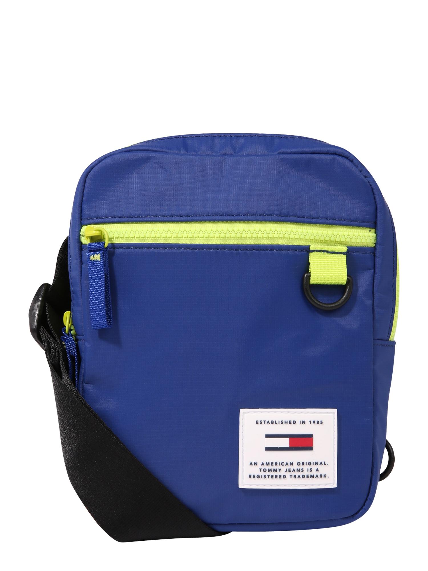 Taška přes rameno URBAN TECH REPORTER modrá svítivě zelená Tommy Jeans