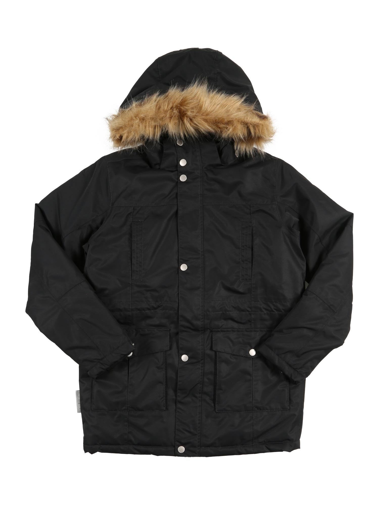 Zimní bunda Maron černá TICKET TO HEAVEN