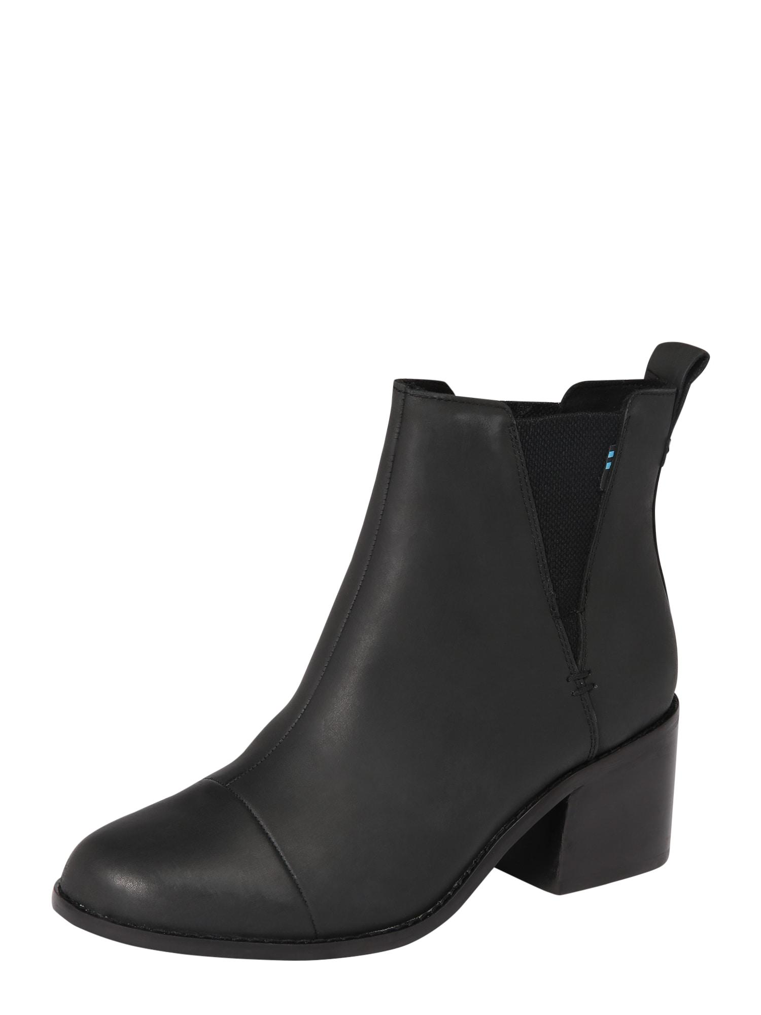 Chelsea boty Esme černá TOMS