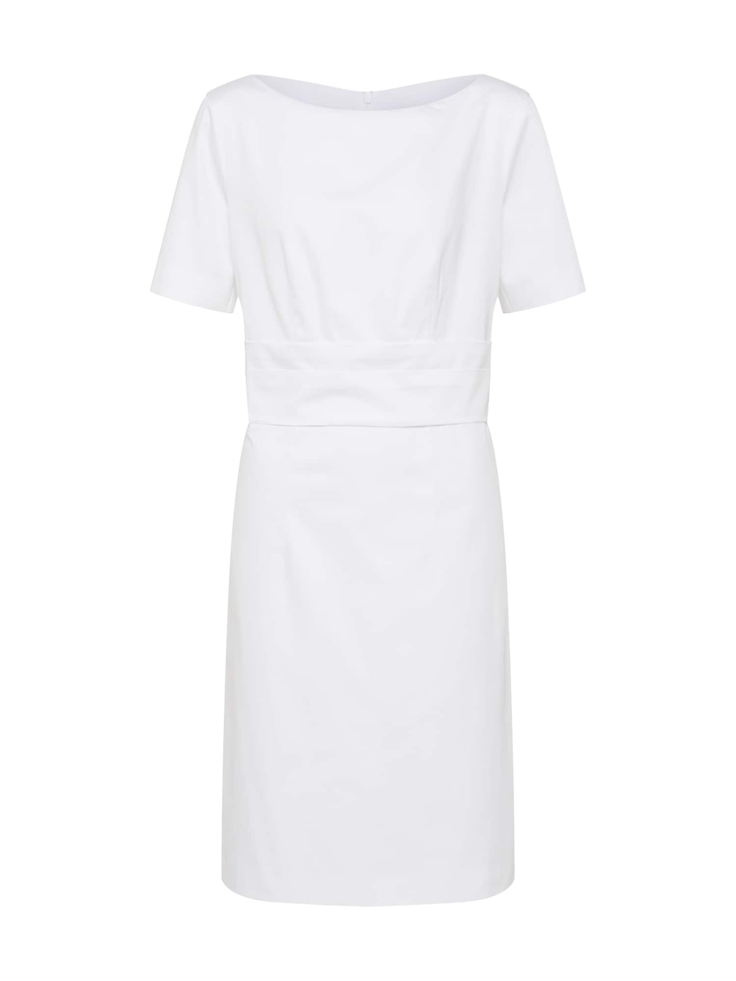 Pouzdrové šaty bílá RENÉ LEZARD