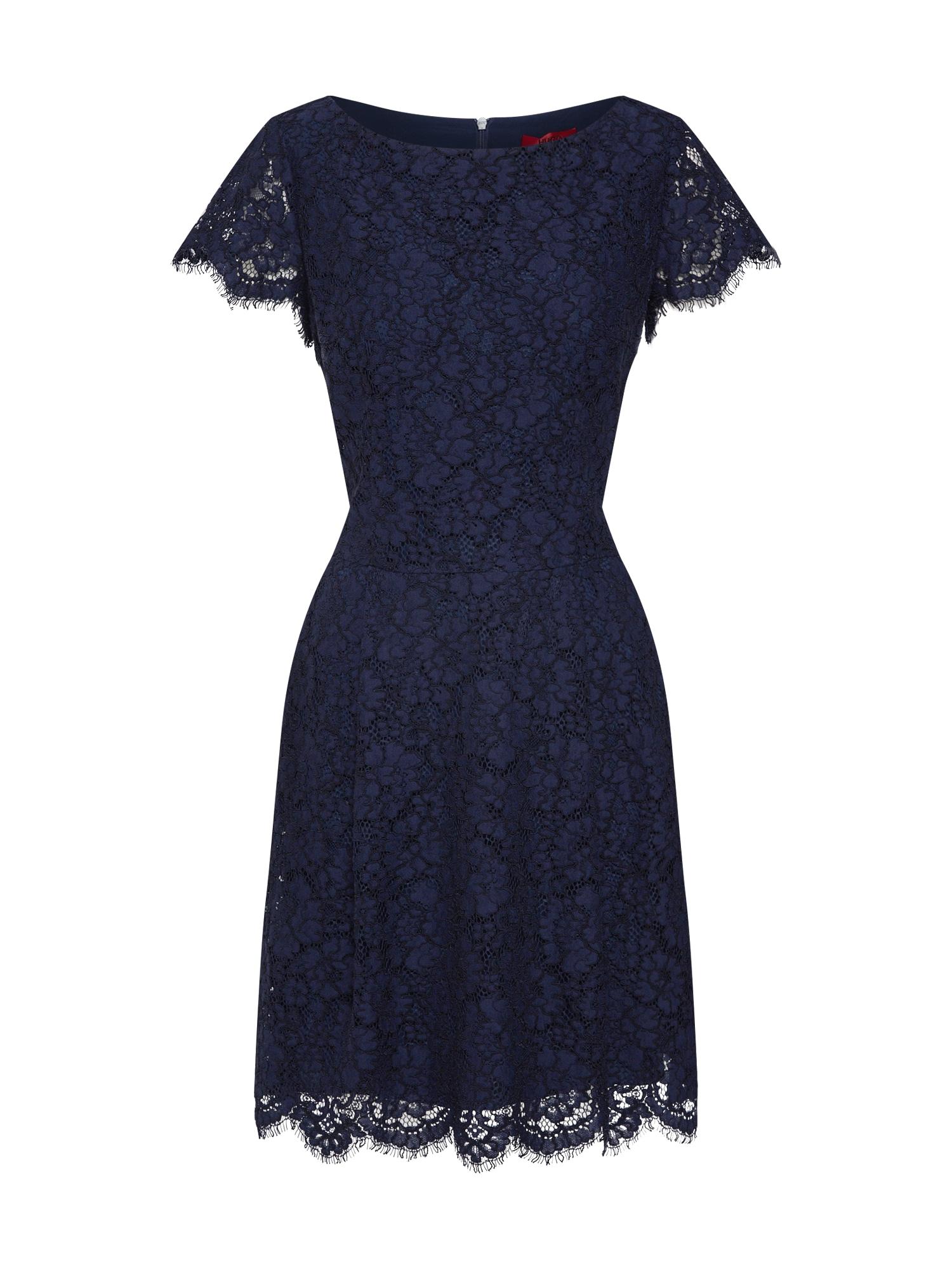 Koktejlové šaty Kasalli-1 námořnická modř HUGO