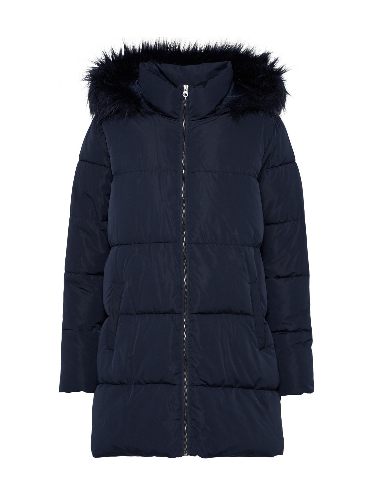 Zimní kabát ELMA noční modrá JACQUELINE De YONG