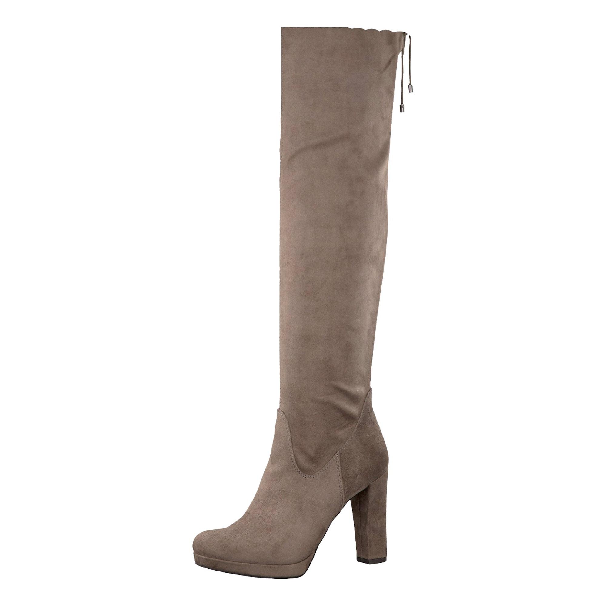 Overknee Stiefel | Schuhe > Stiefel > Overknees | Taupe | tamaris