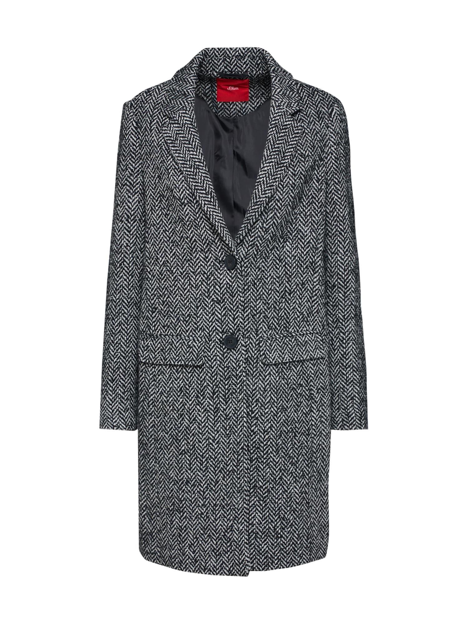 Přechodný kabát šedá S.Oliver RED LABEL