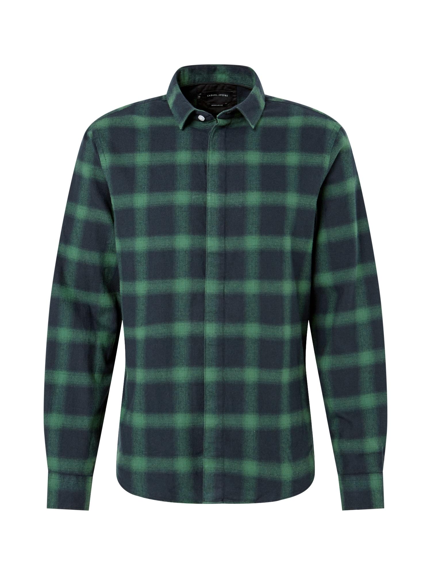 Košile tmavě zelená Casual Friday