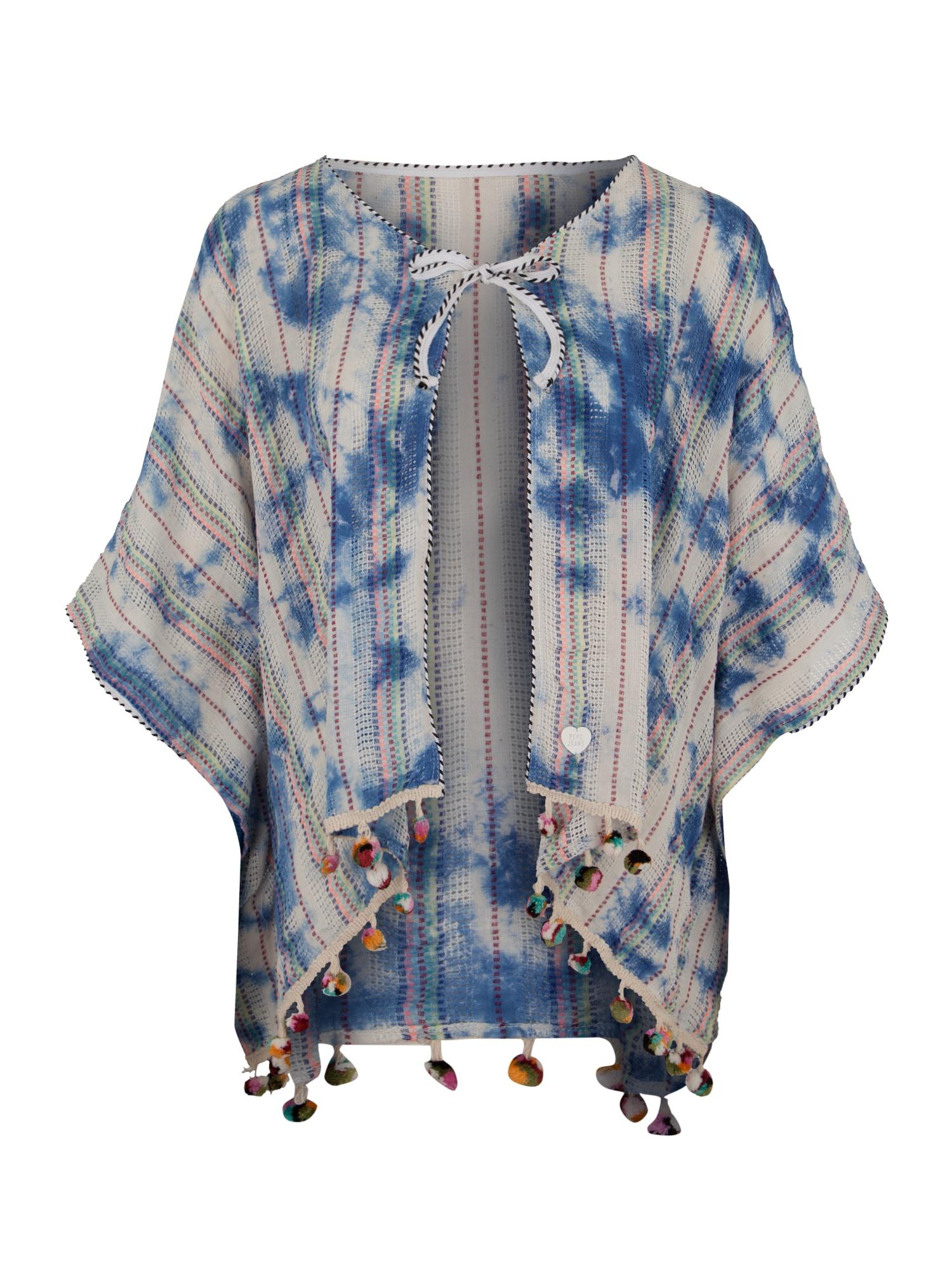 Pepe Jeans Meisjes Gebreid vest BLUE SOUL blauw wit