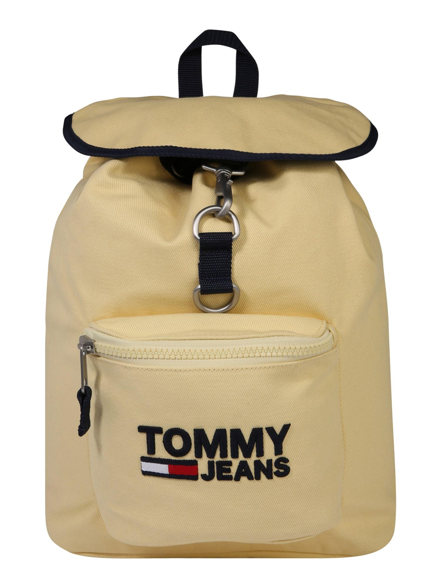 Batoh TJW Heritage světle žlutá černá Tommy Jeans