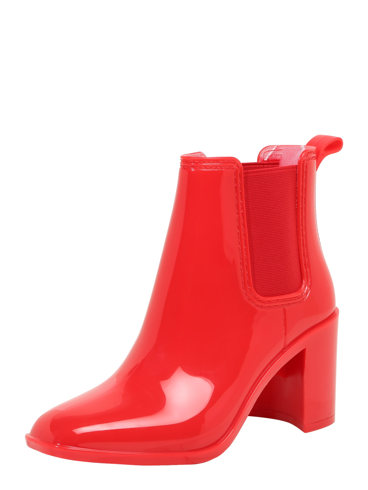 Kotníkové boty červená Jeffrey Campbell