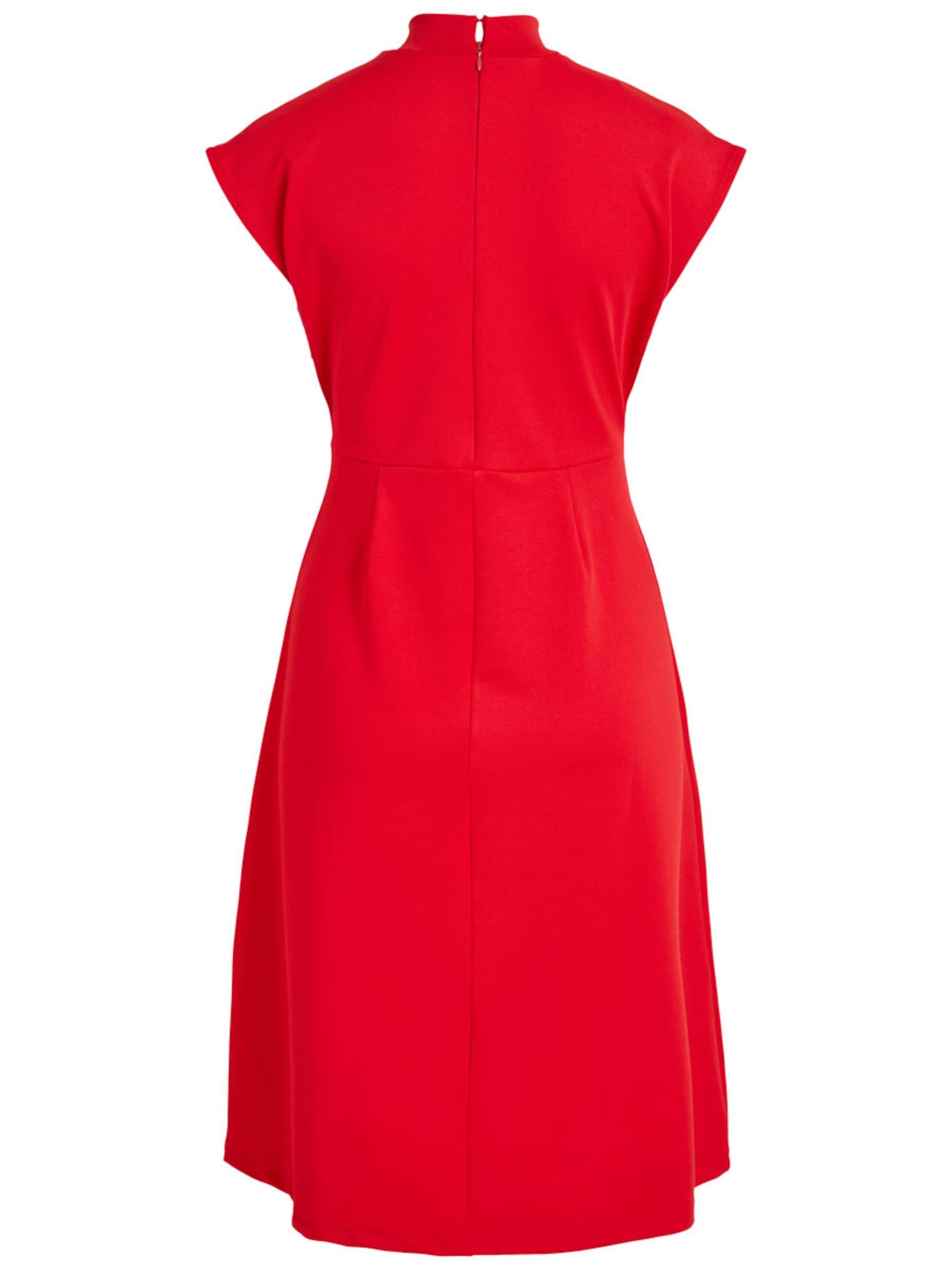 VILA Sukienka koszulowa  czerwony