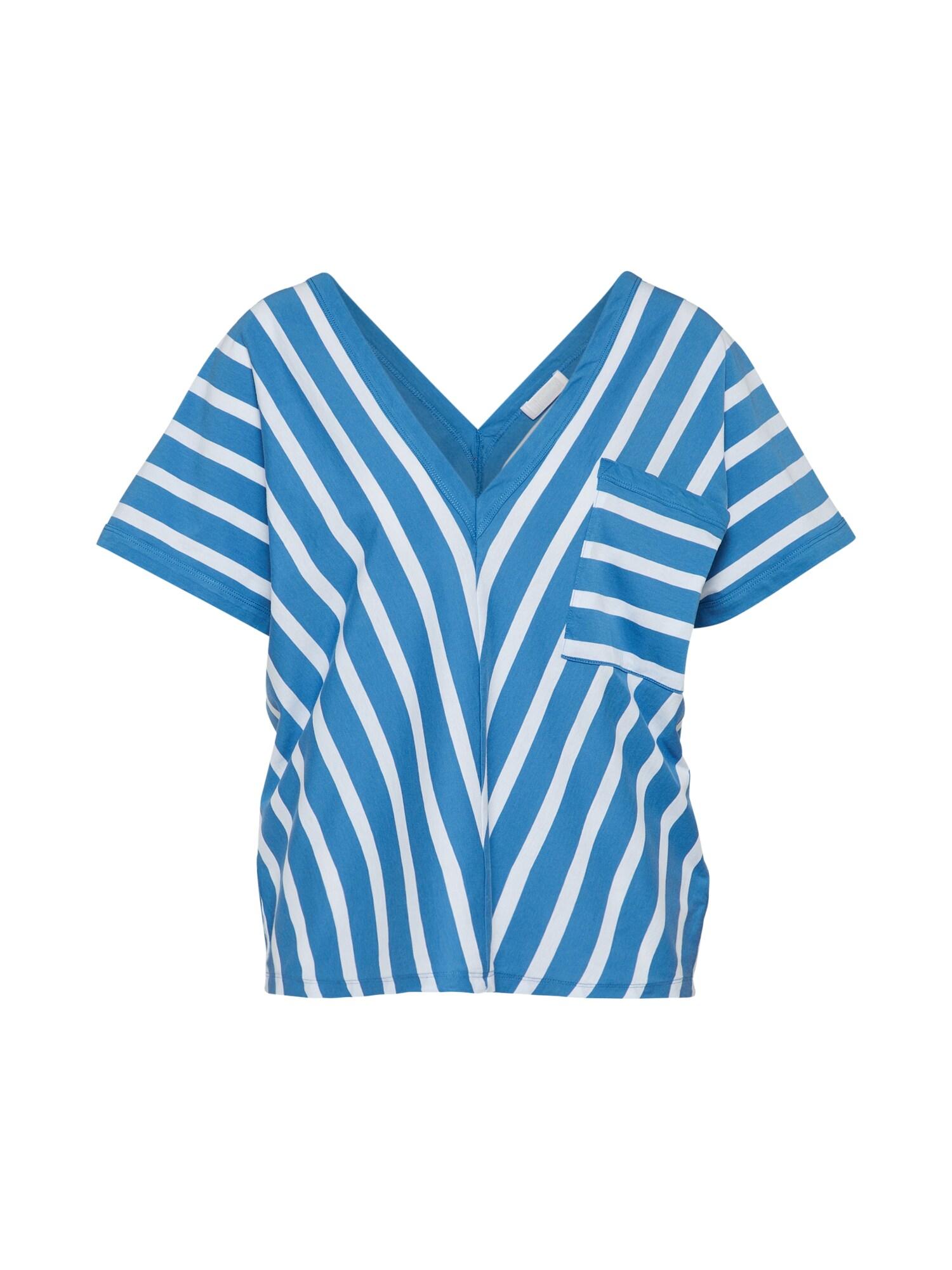 Tričko TALEA modrá bílá DRYKORN