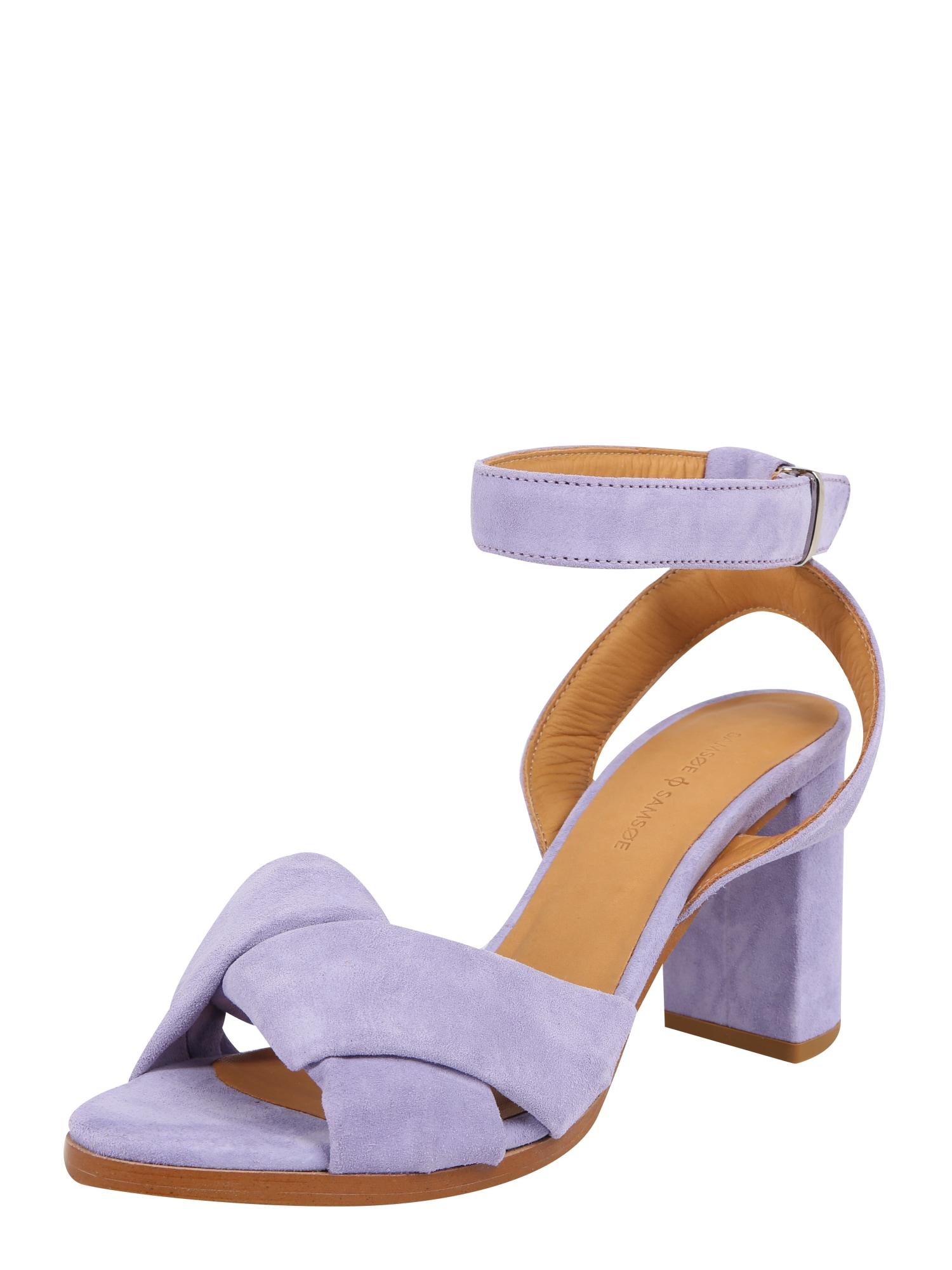 Sandály fialová Samsoe & Samsoe
