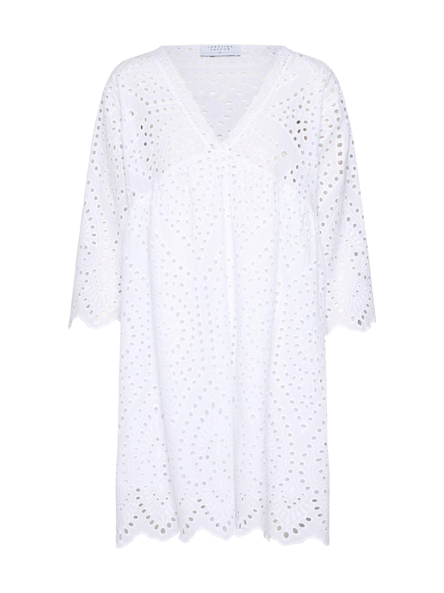 Letní šaty Batist bílá Carolina Cavour