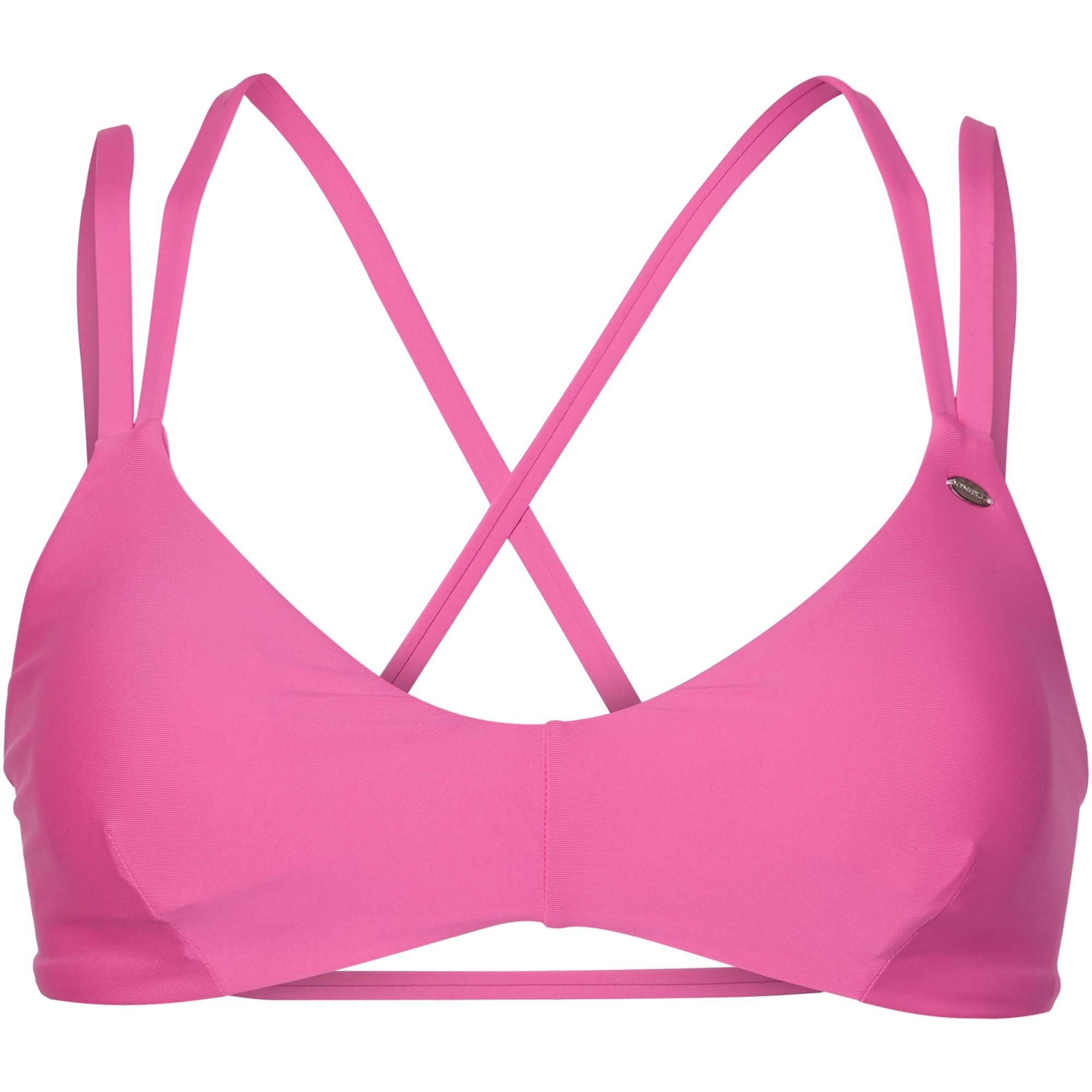 ONEILL Sportovní svršek bikin PW BRALET MULTI TIE TOP pink O'NEILL
