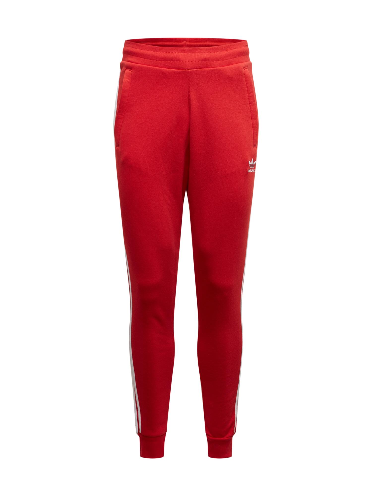 ADIDAS ORIGINALS Kalhoty  červená