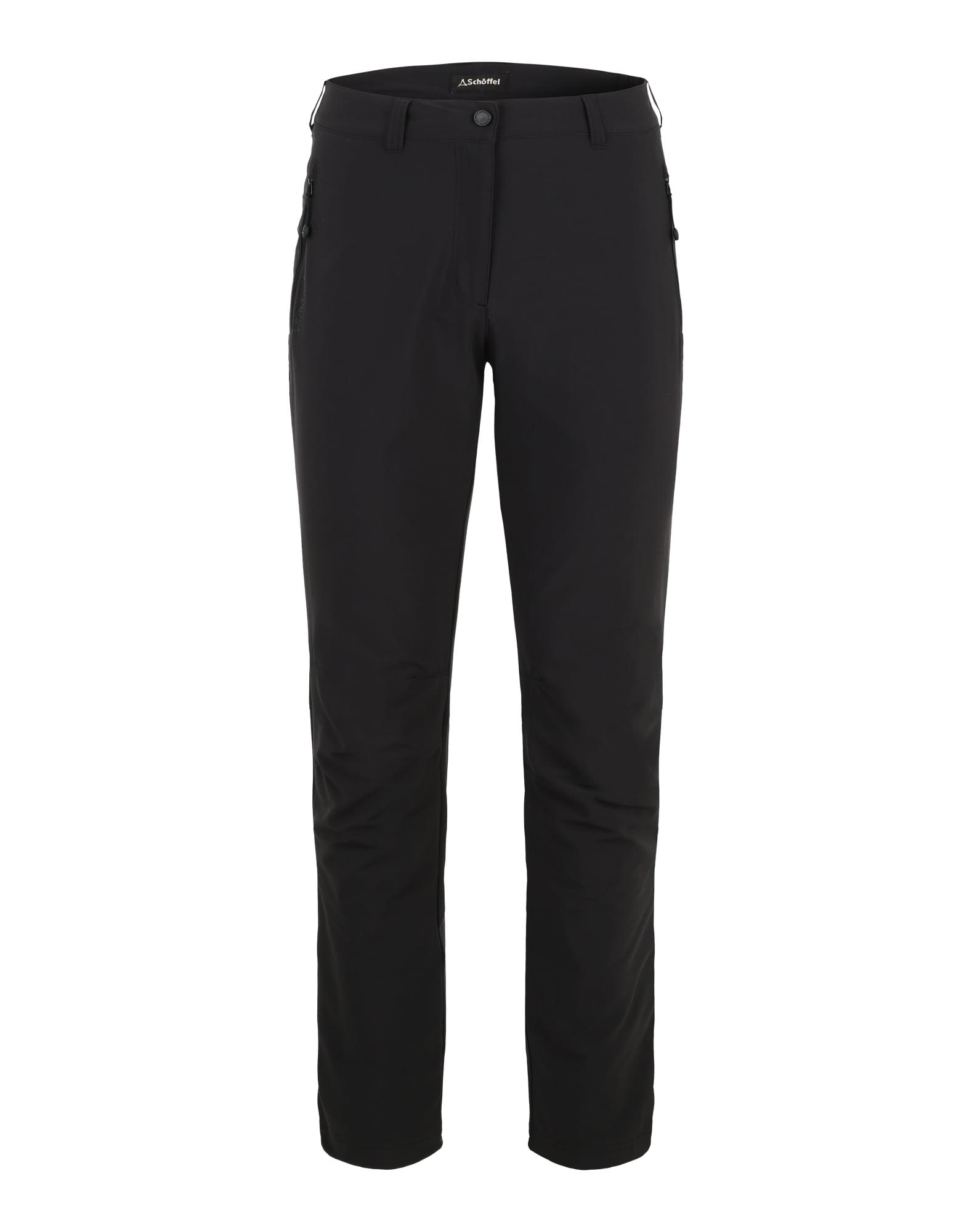 Schöffel Outdoorové nohavice 'Engadin'  čierna