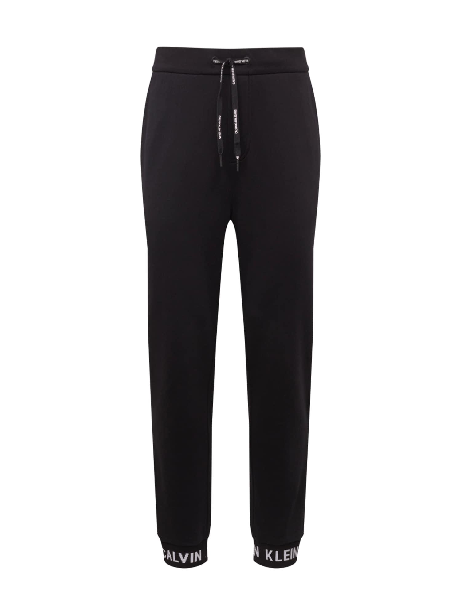 Kalhoty černá Calvin Klein Jeans