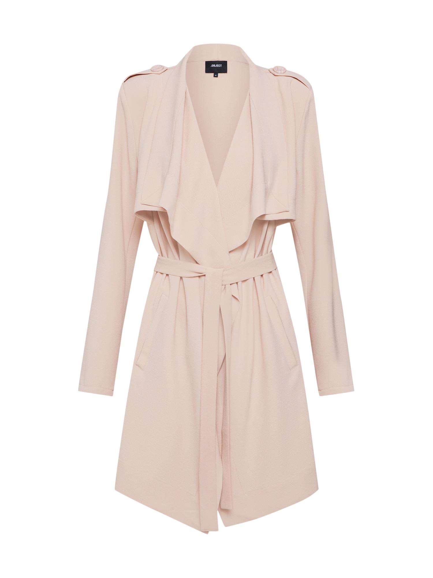 Přechodný kabát OBJAnnlee růžová OBJECT