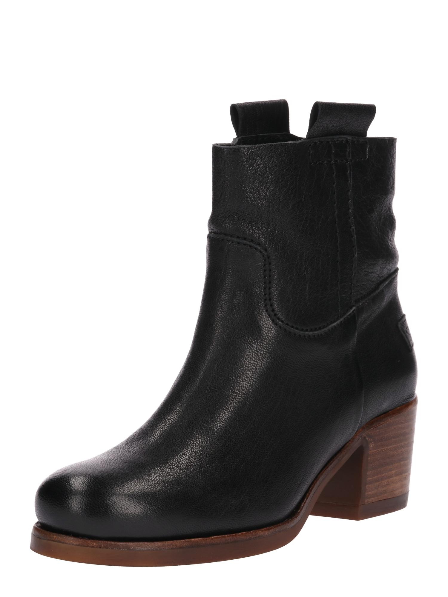 Kotníkové boty černá SHABBIES AMSTERDAM
