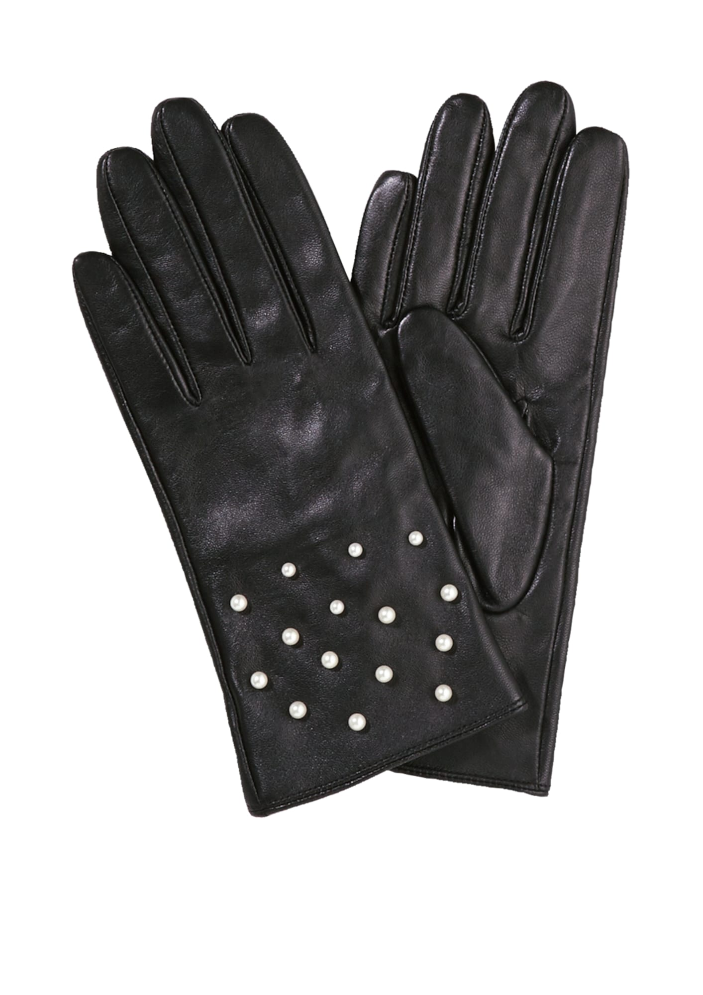Lederhandschuhe | Accessoires > Handschuhe > Lederhandschuhe | Schwarz | S.Oliver BLACK LABEL