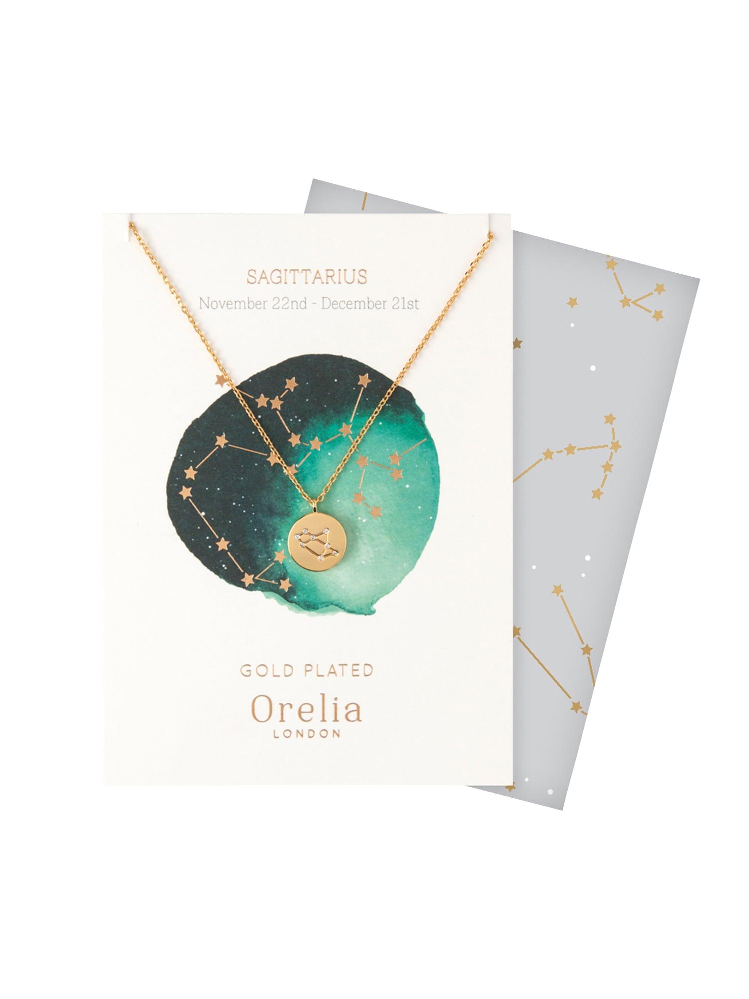Řetízek Sagittarius zlatá Orelia
