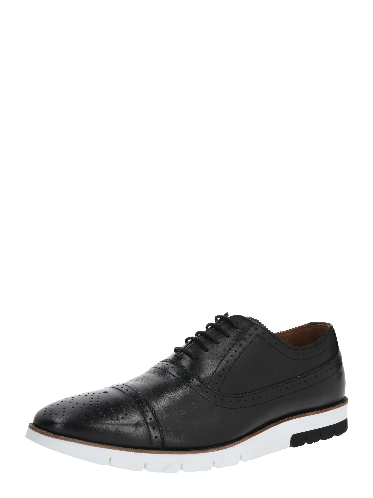 Gordon & Bros Šněrovací boty 'XL-CITY'  černá