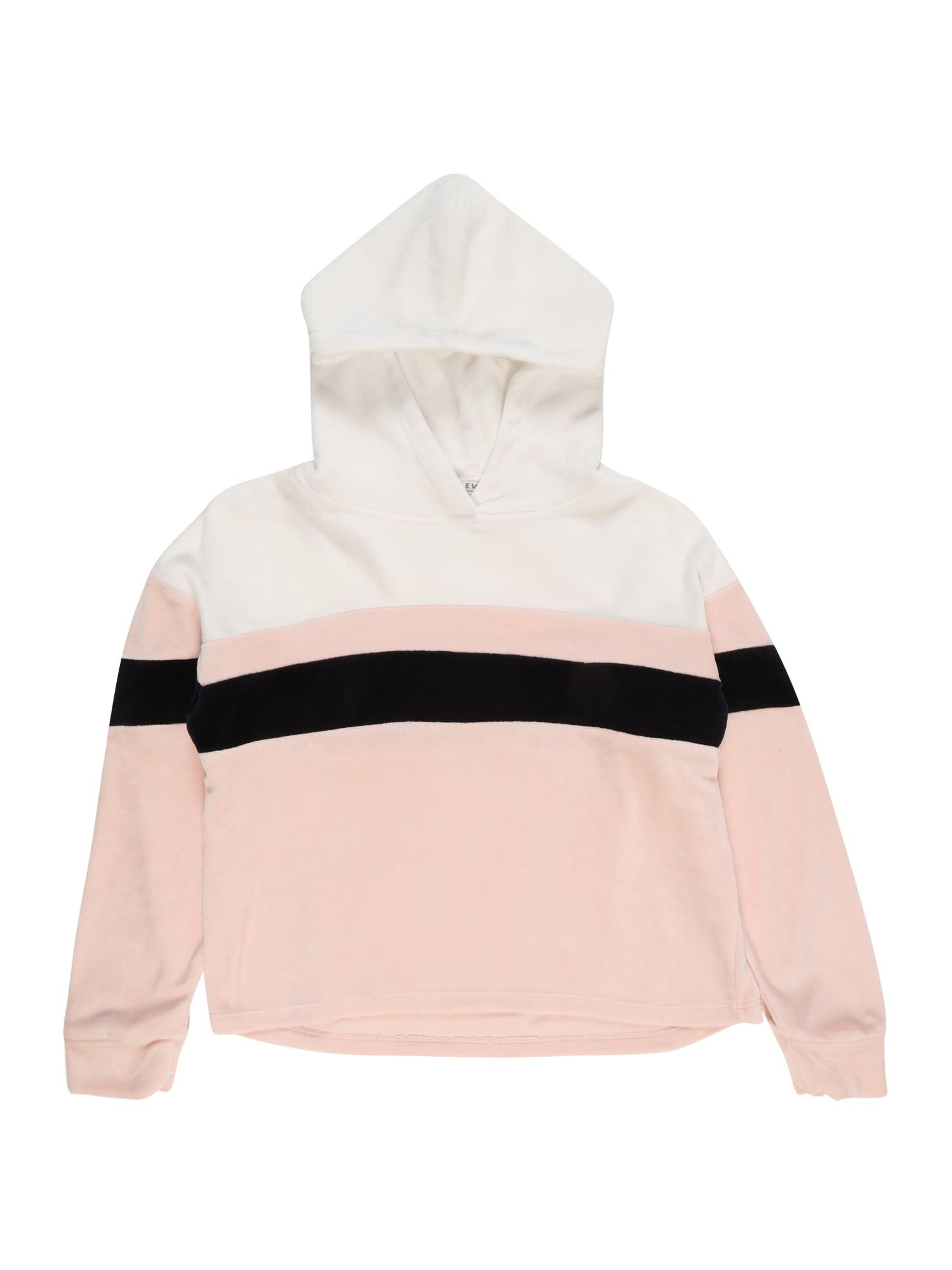 Mikina TG-19-S100 růžová černá bílá REVIEW FOR TEENS