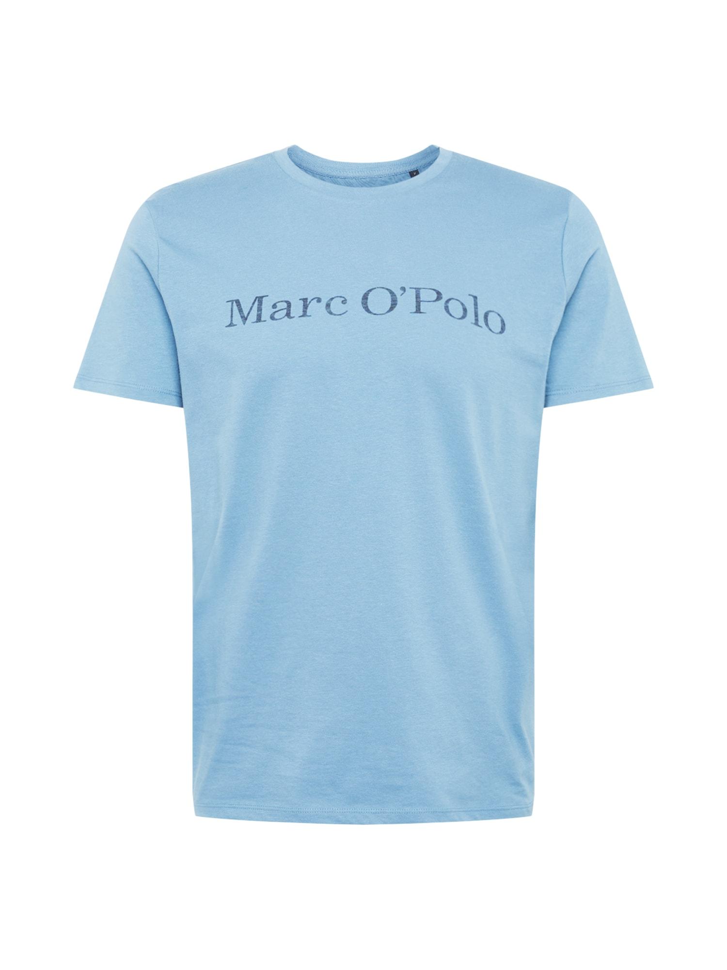 Marc OPolo Tričko kouřově modrá Marc O'Polo