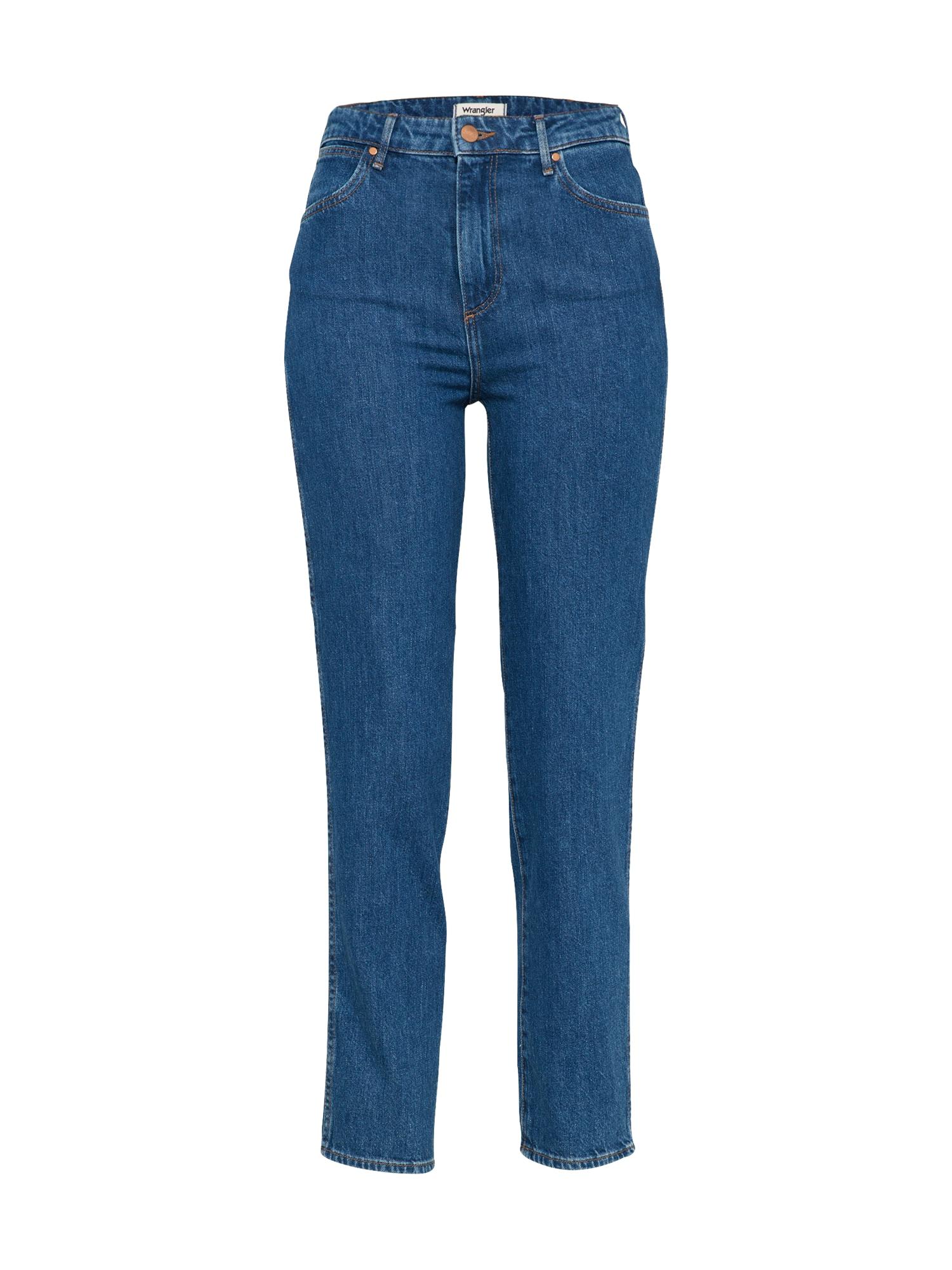 WRANGLER Dames Jeans Retro Slim blauw