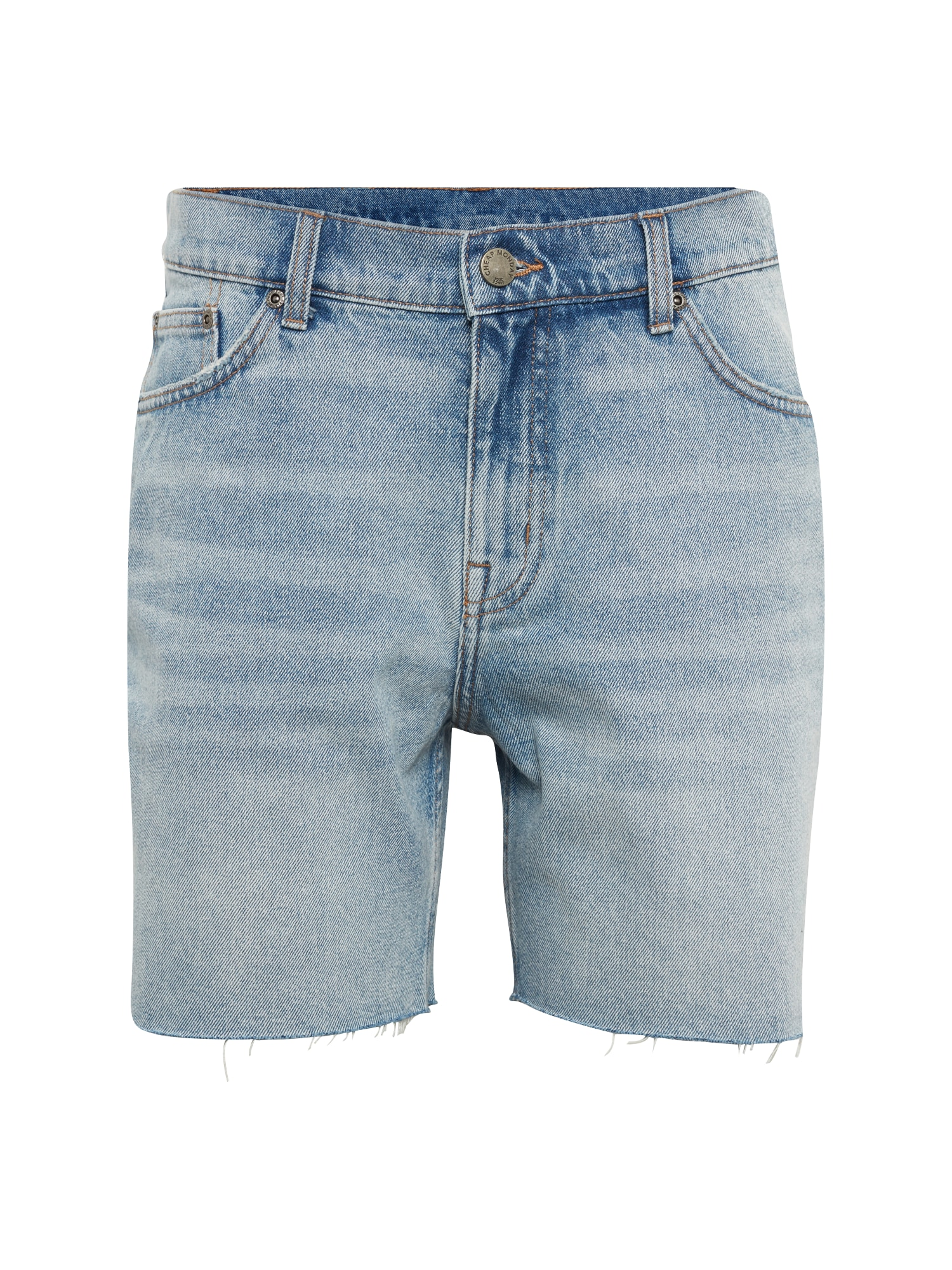CHEAP MONDAY Heren Broek Sonic blue denim