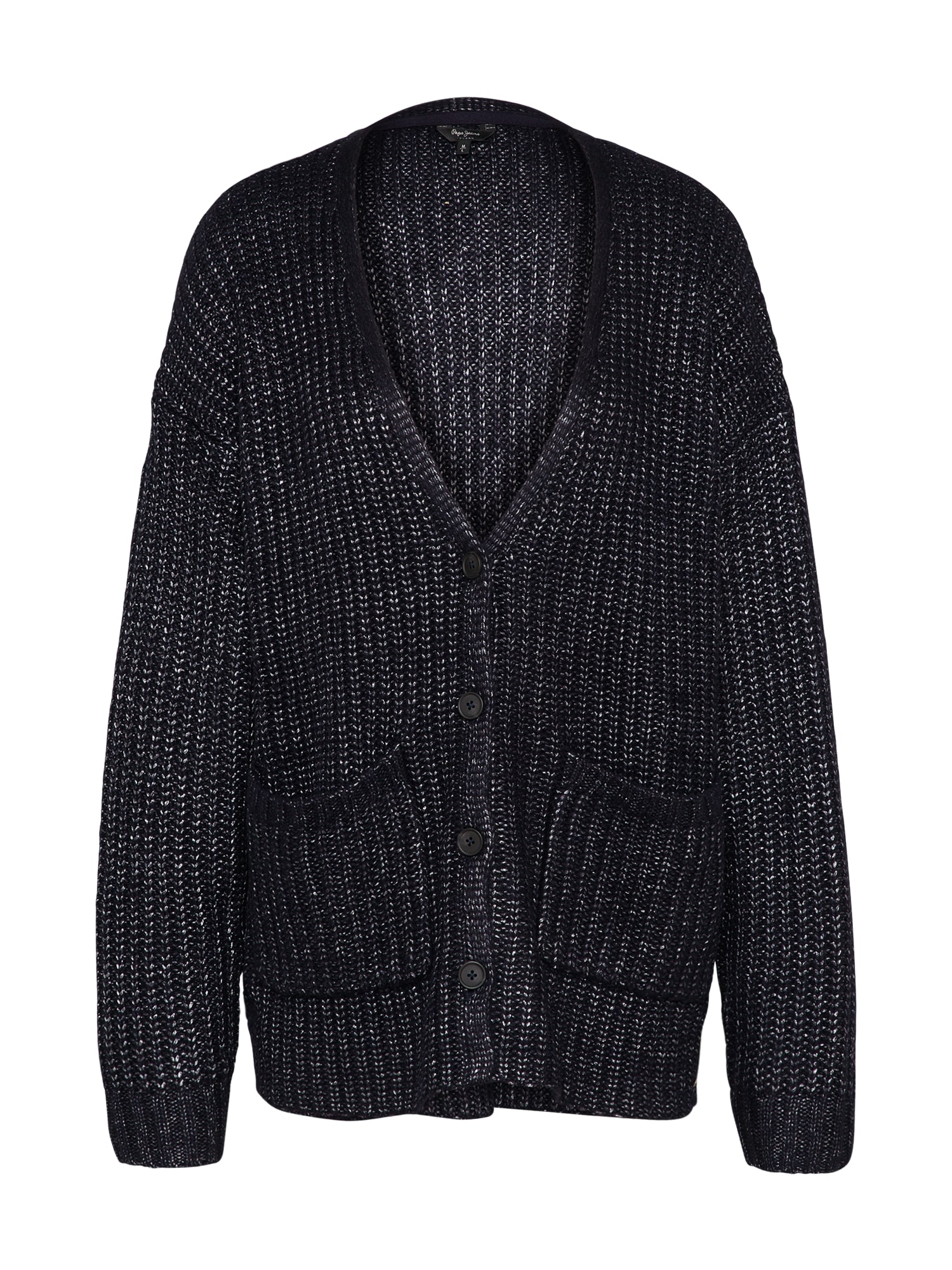 Pepe Jeans Dames Oversized vest ABBY donkerblauw
