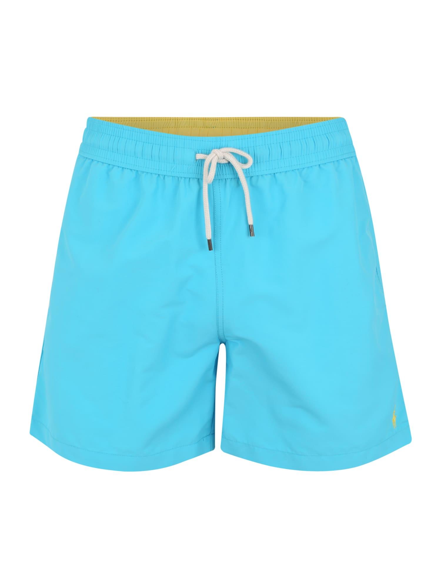 Plavecké šortky TRAVELER-SWIM modrá POLO RALPH LAUREN