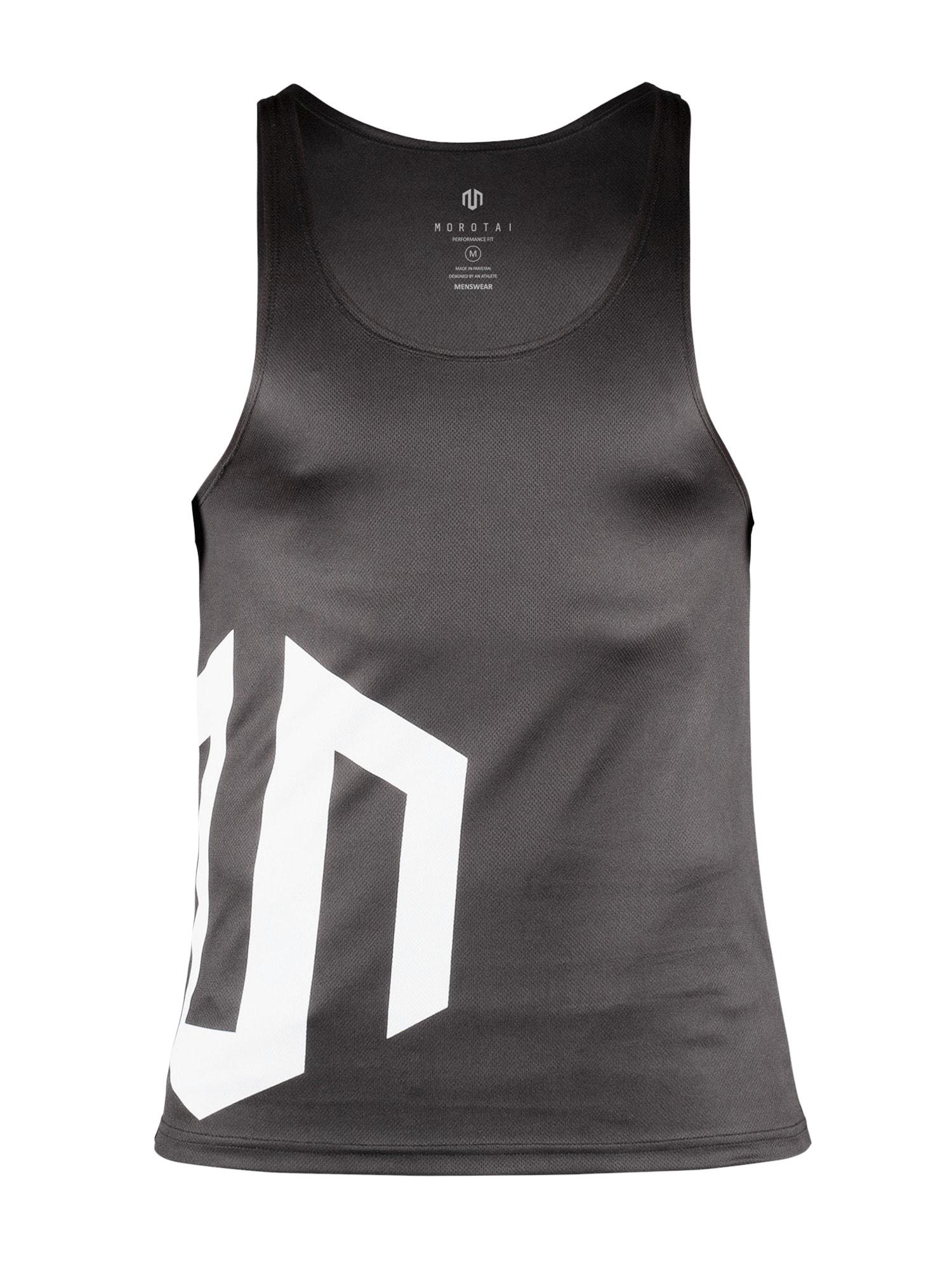 Funkční tričko černá bílá MOROTAI