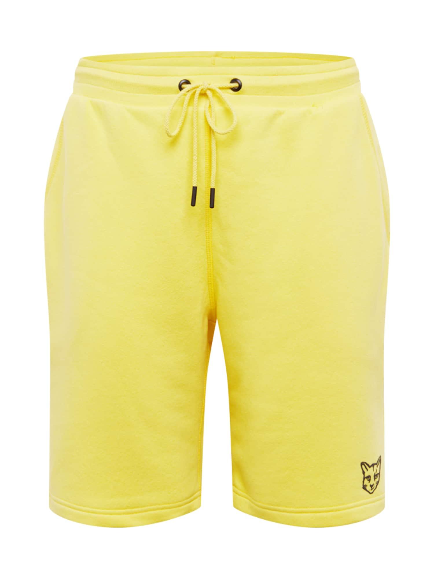 Kalhoty Linus žlutá ABOUT YOU X PARI
