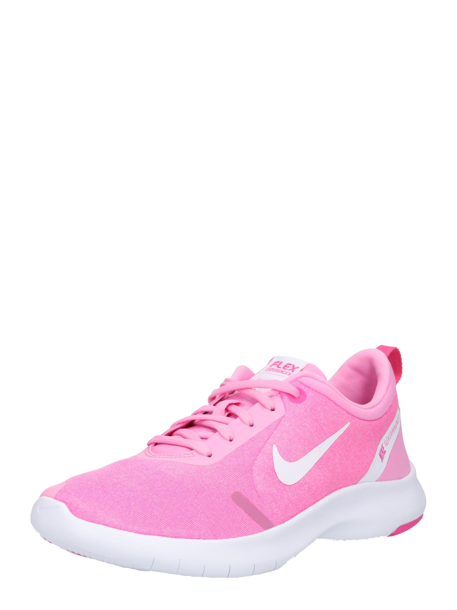 Sportovní boty Nike Flex Experience RN 8 pink bílá NIKE